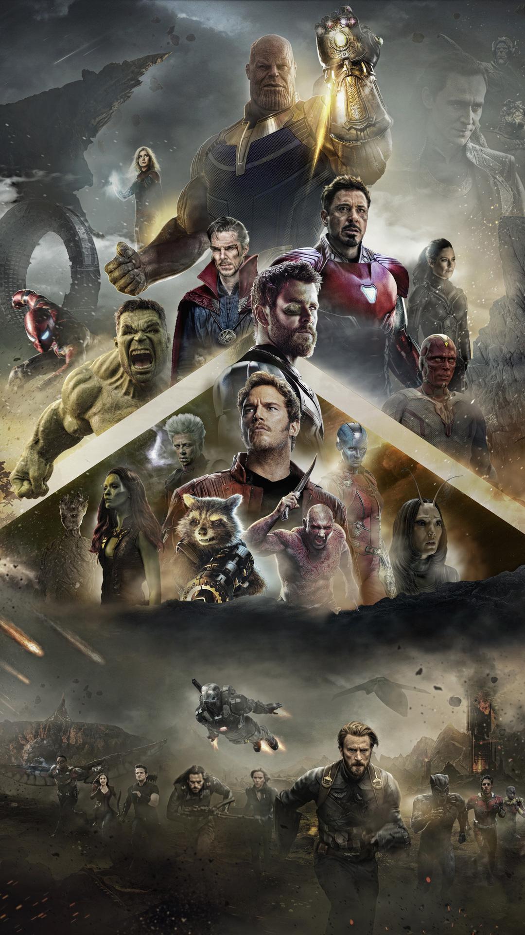 1080x1920 avengers infinity war 2018 poster iphone 7 6s 6 - Avengers infinity war wallpaper iphone ...