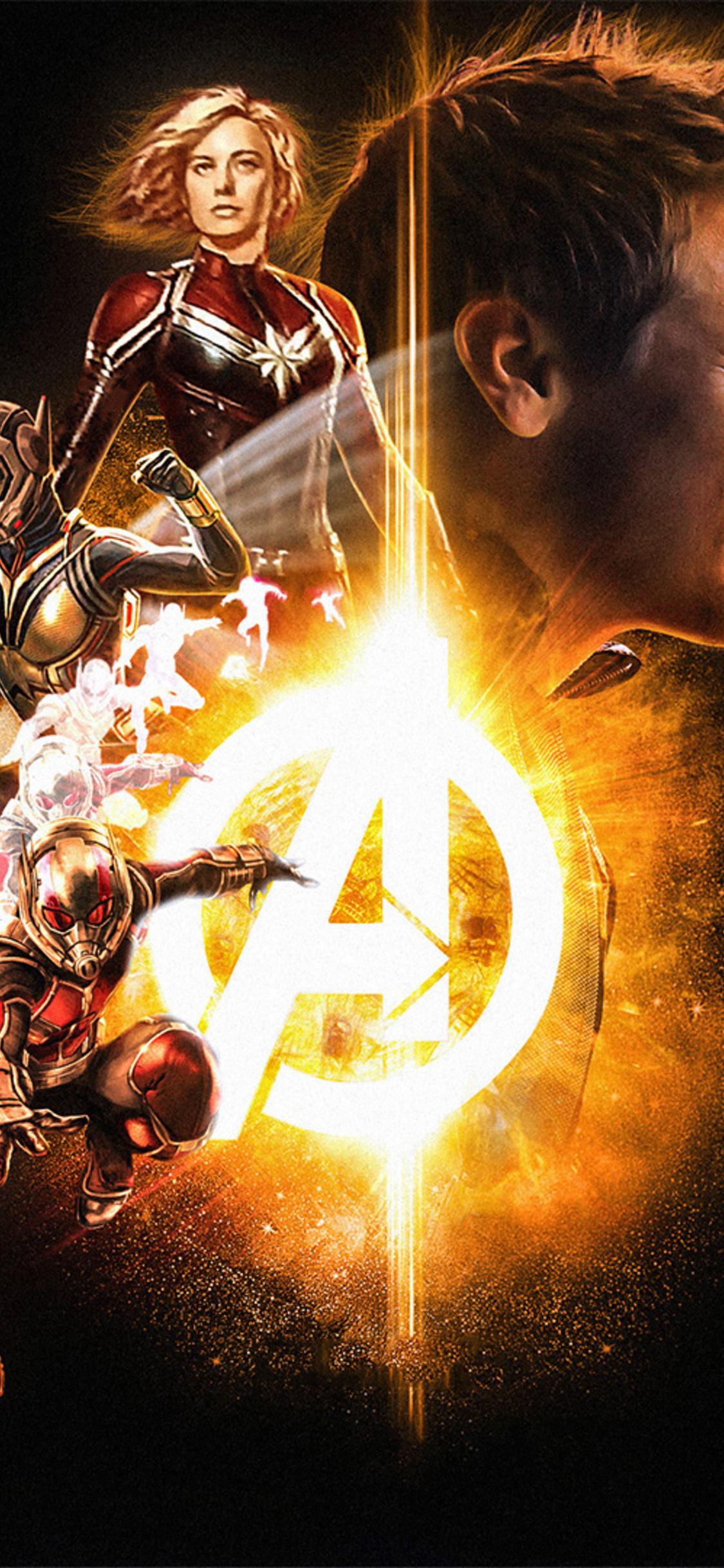 1125x2436 Avengers Infinity War 2018 Soul Stone Poster Iphone Xs