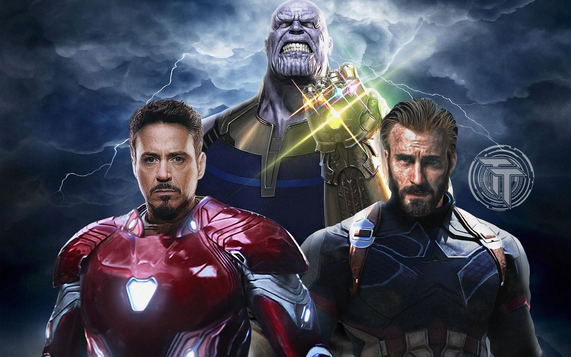 1920x1200 Avengers Infinity War Captain America Iron Man