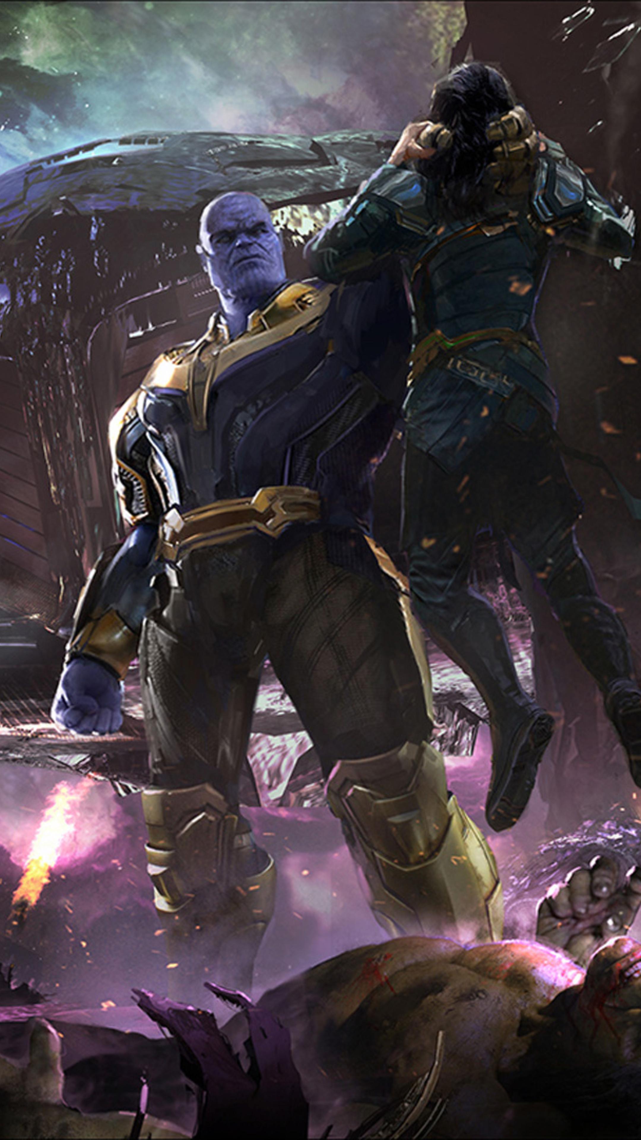Infinity War Concept Art Hd