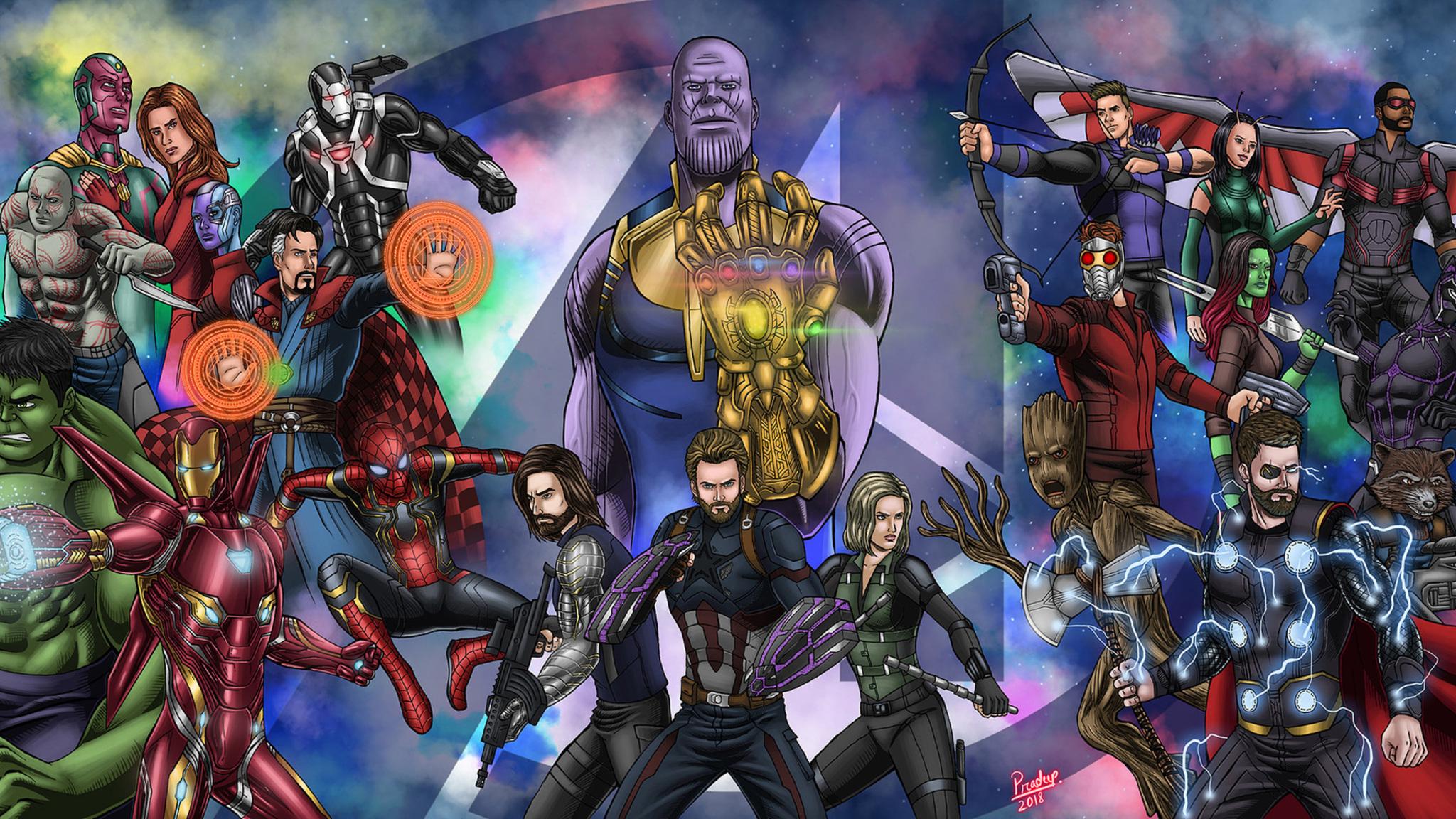 2048x1152 Pubg Fan Art 2048x1152 Resolution Hd 4k: 2048x1152 Avengers Infinity War Fan Art 2048x1152