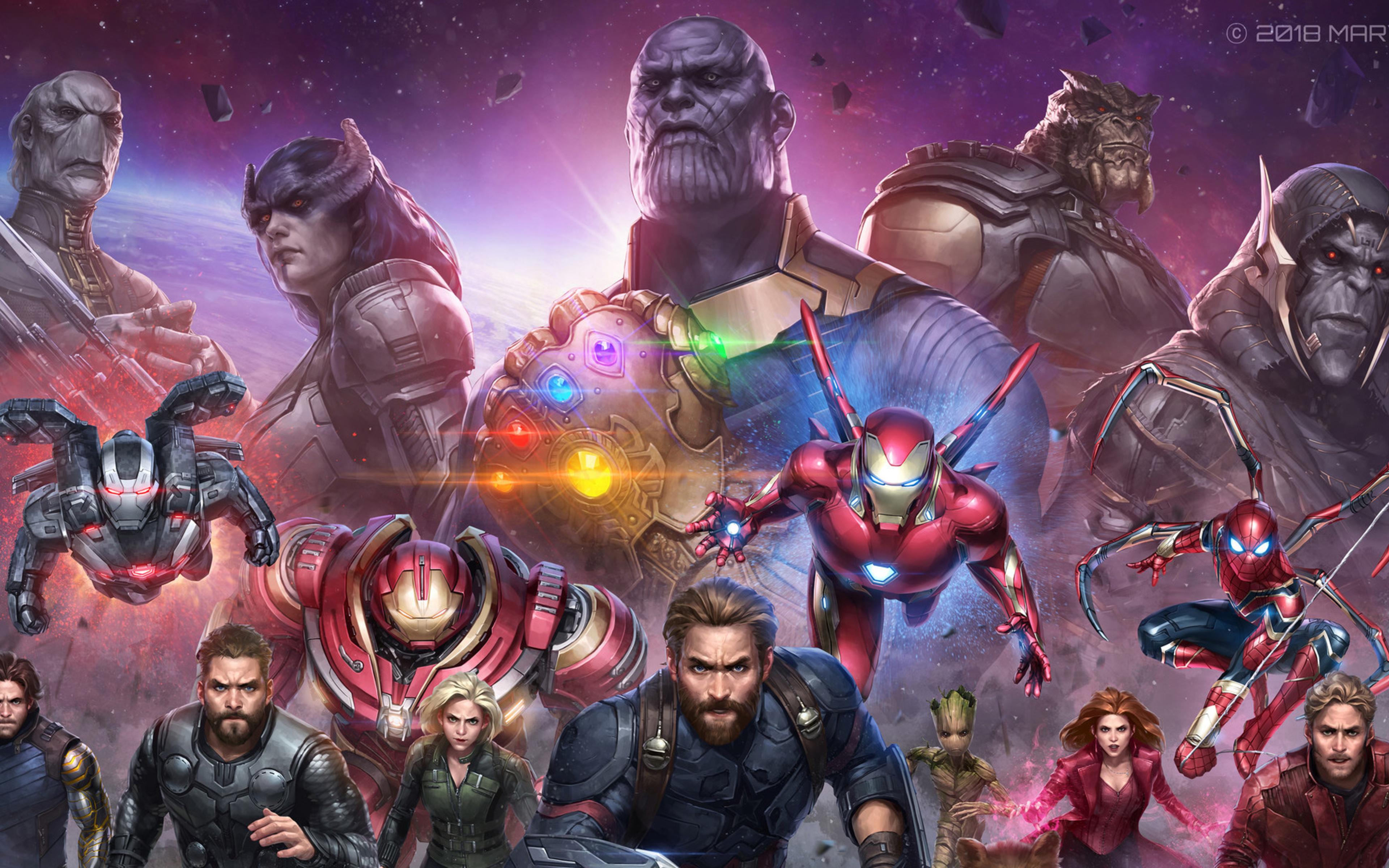 3840x2400 Avengers Infinity War Future Marvel Fight 4k Hd 4k