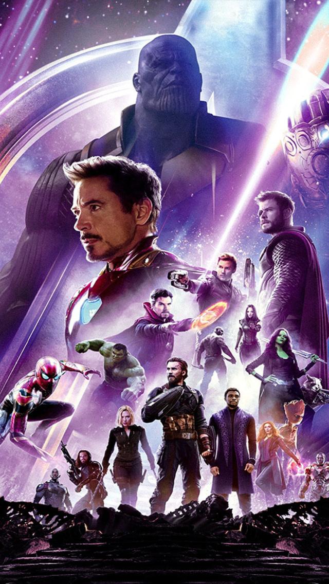 640x1136 Avengers Infinity War Hd Poster Iphone 5 5c 5s Se Ipod