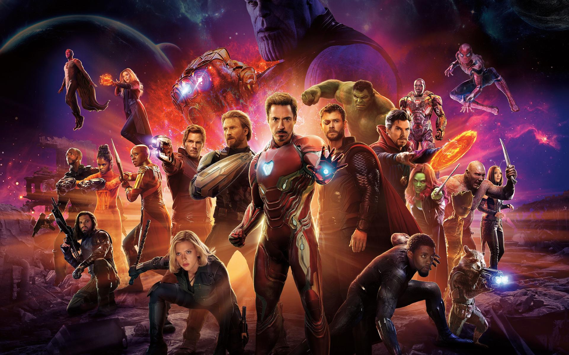1920x1200 avengers infinity war international poster 10k 1080p