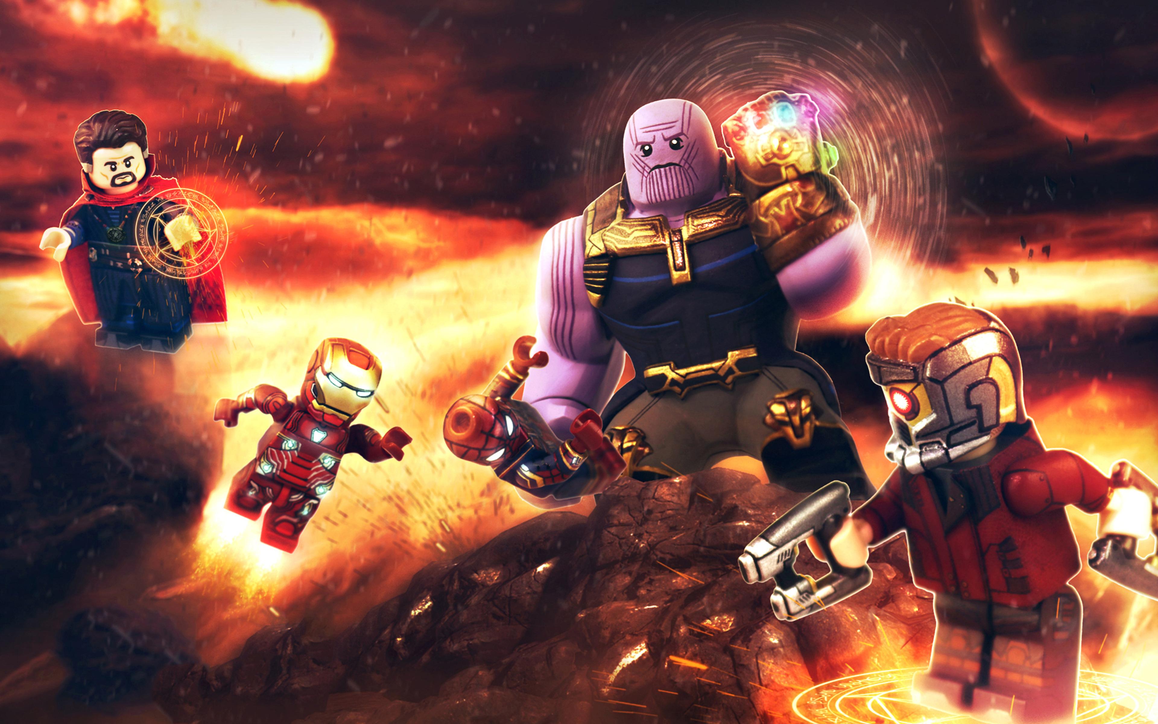 3840x2400 Avengers Infinity War Lego 4k Hd 4k Wallpapers Images