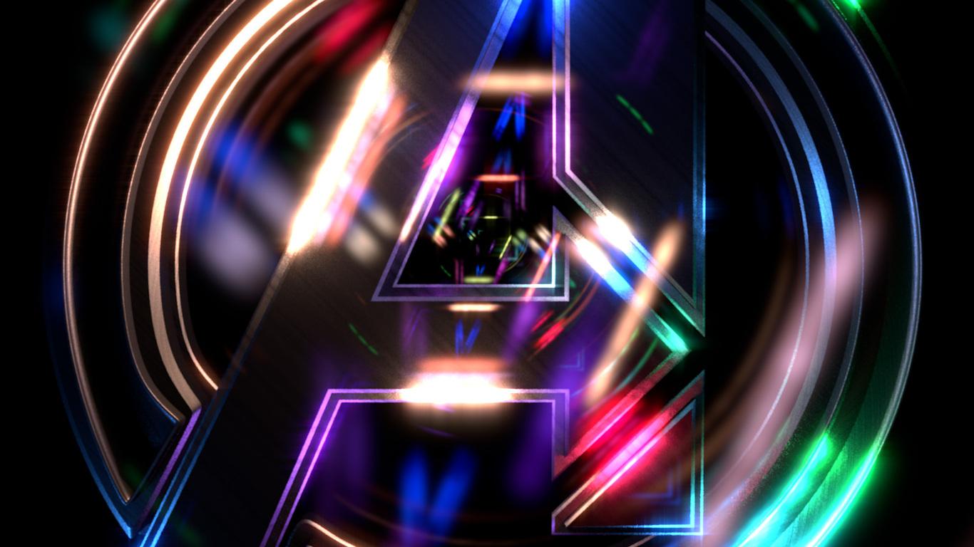 Neon Wallpaper Avengers