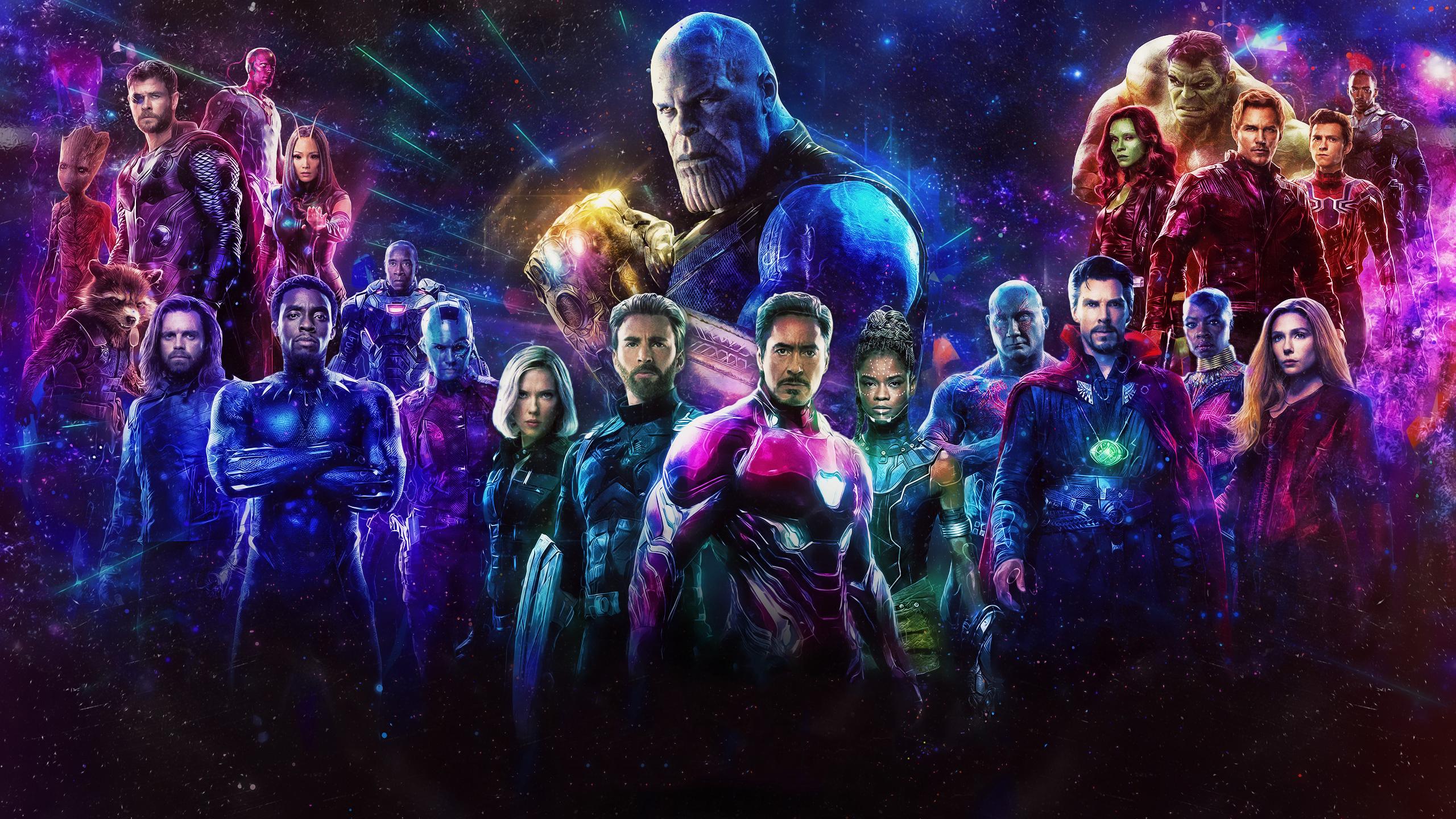 2560x1440 Avengers Infinity War 1440P Resolution HD 4k ...