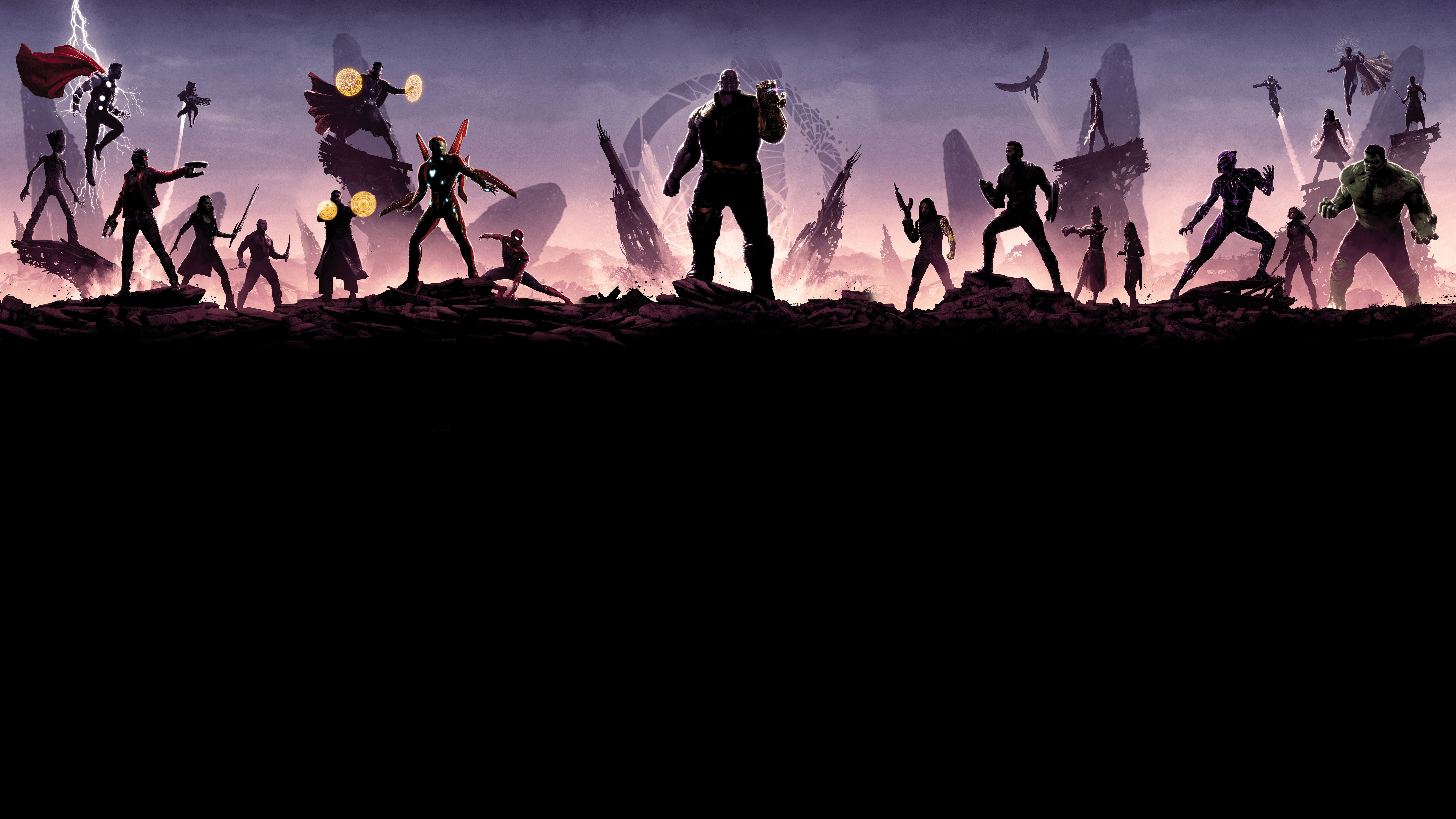 7680x4320 Avengers Infinity War Minimalism 8k 8k Hd 4k Wallpapers Images Backgrounds Photos And Pictures