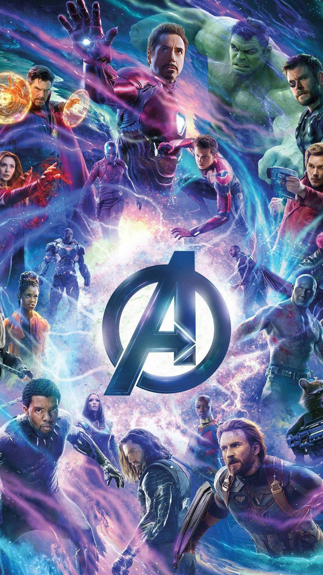 1080x1920 Avengers Infinity War Movie Bill Poster Iphone 7 ...
