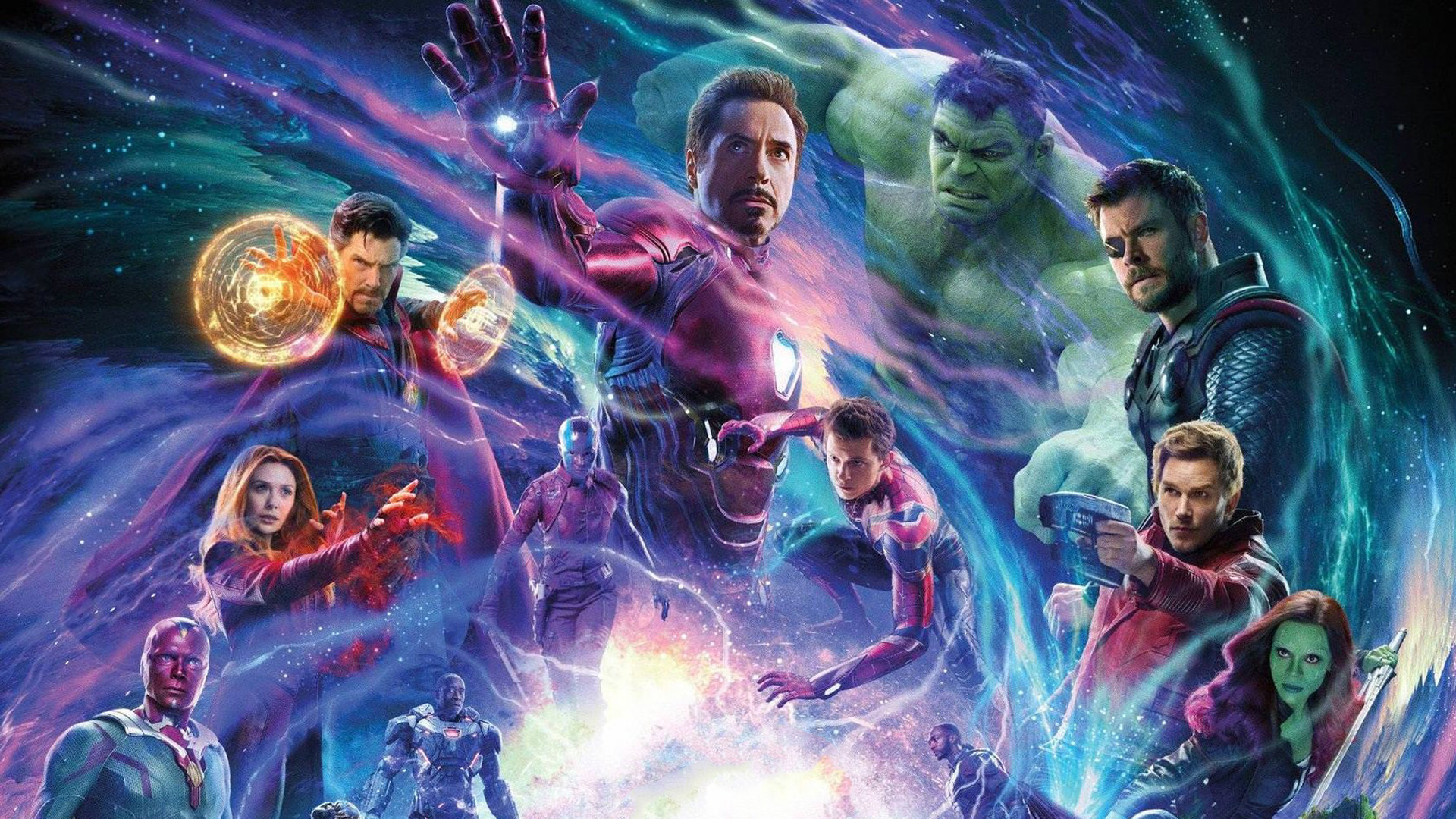 1920x1080 Avengers Infinity War Movie Bill Poster Laptop ...