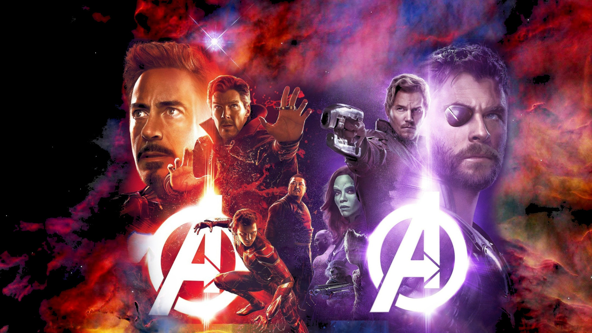 1920x1080 Avengers Infinity War Movie Laptop Full HD 1080P ...