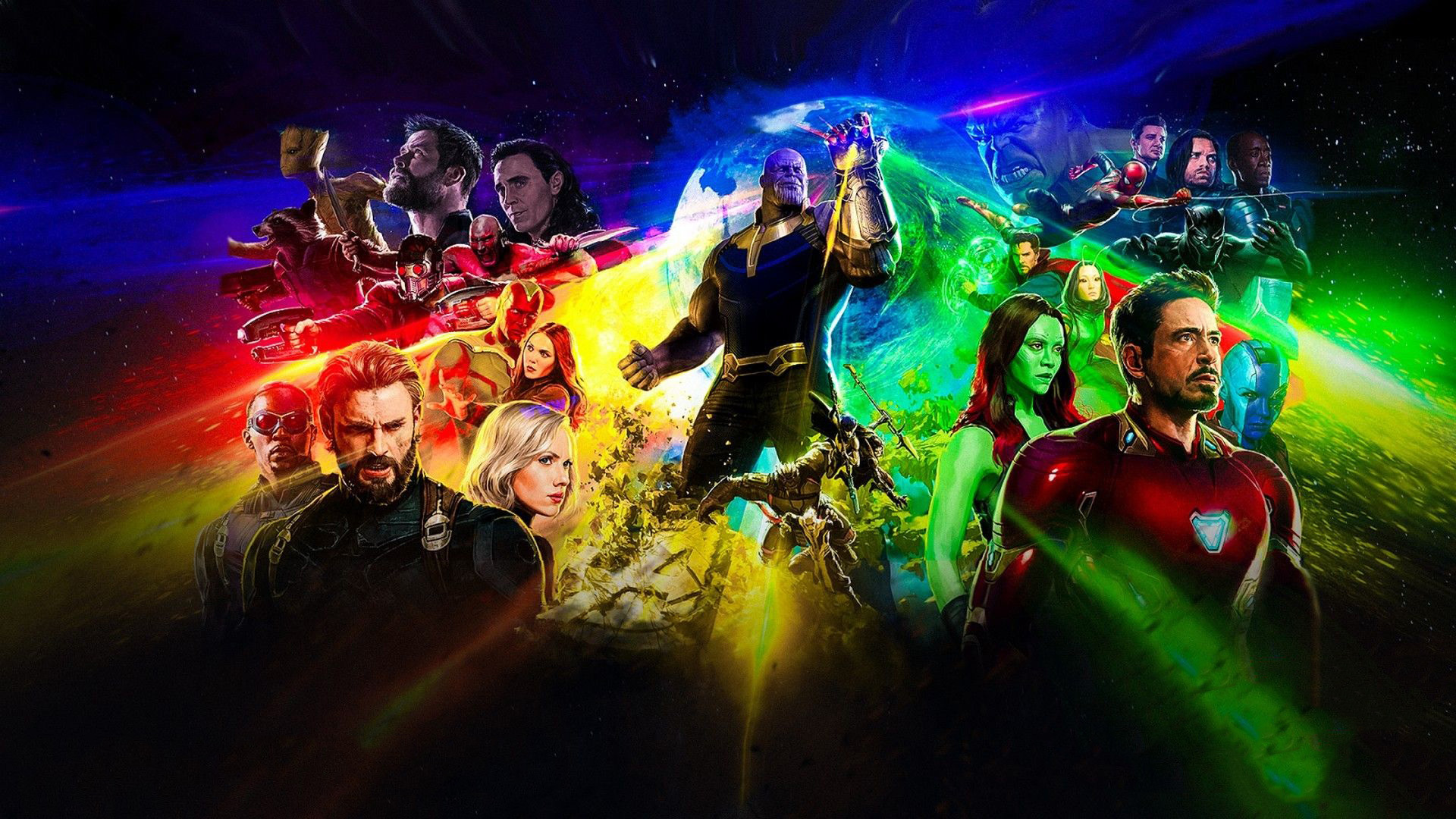 Avengers Infinity War Movie Poster Hd
