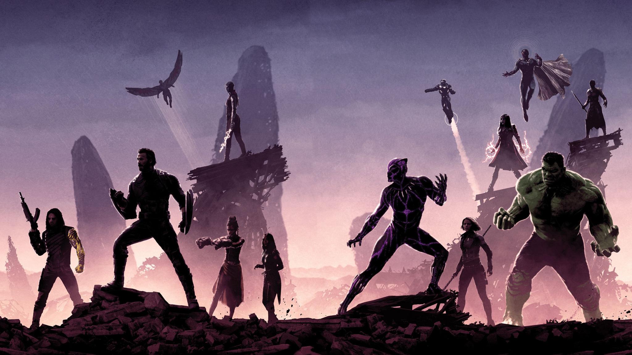 2048x1152 Avengers Infinity War Promotion Poster 4k