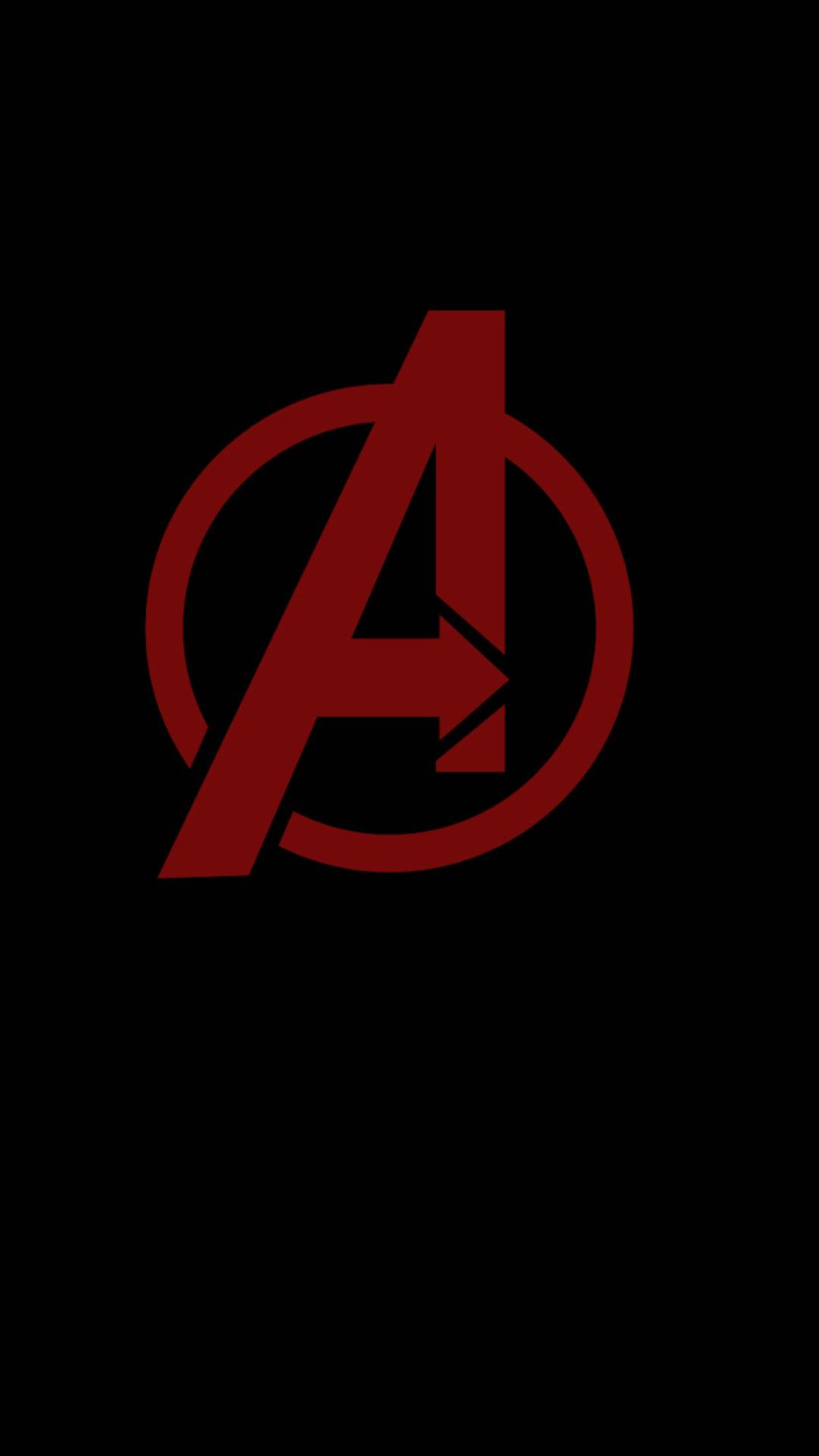 1080x1920 avengers minimal logo iphone 7 6s 6 plus pixel - Avengers a logo 4k ...
