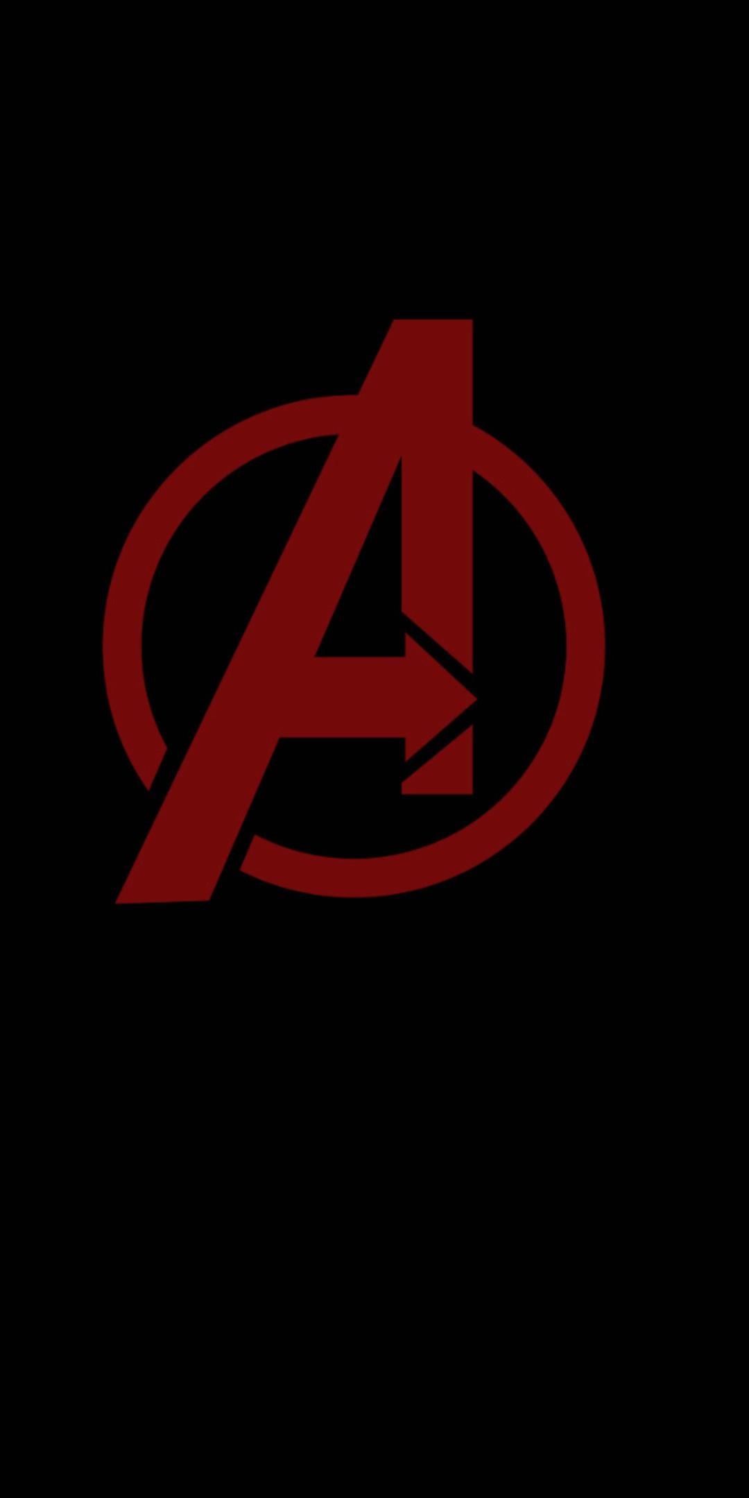1080x2160 Avengers Minimal Logo One Plus 5t Honor 7x Honor View 10