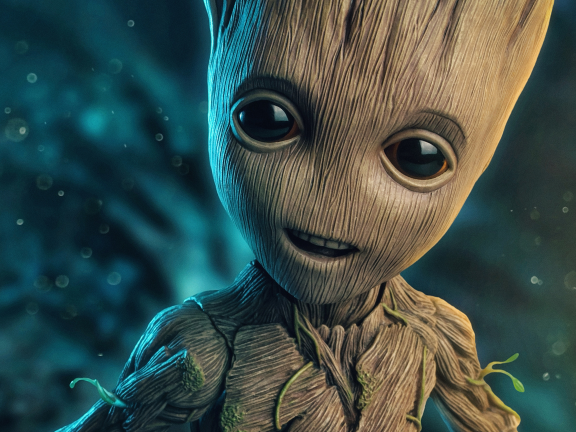 1152x864 Baby Groot 2018 4k 1152x864 Resolution HD 4k