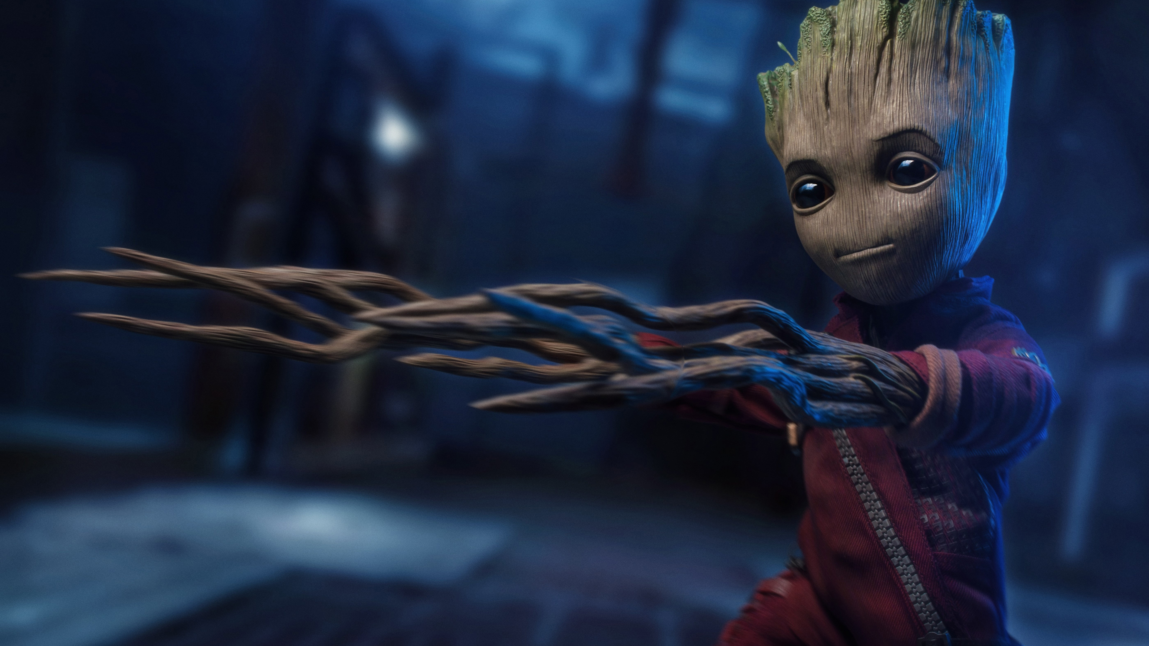 3840x2160 Baby Groot 5k 2018 4k HD 4k Wallpapers, Images