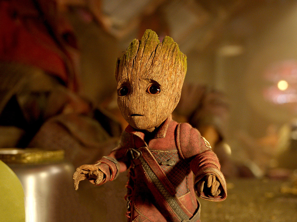 1024x768 Baby Groot Guardians Of The Galaxy Vol 2 1024x768
