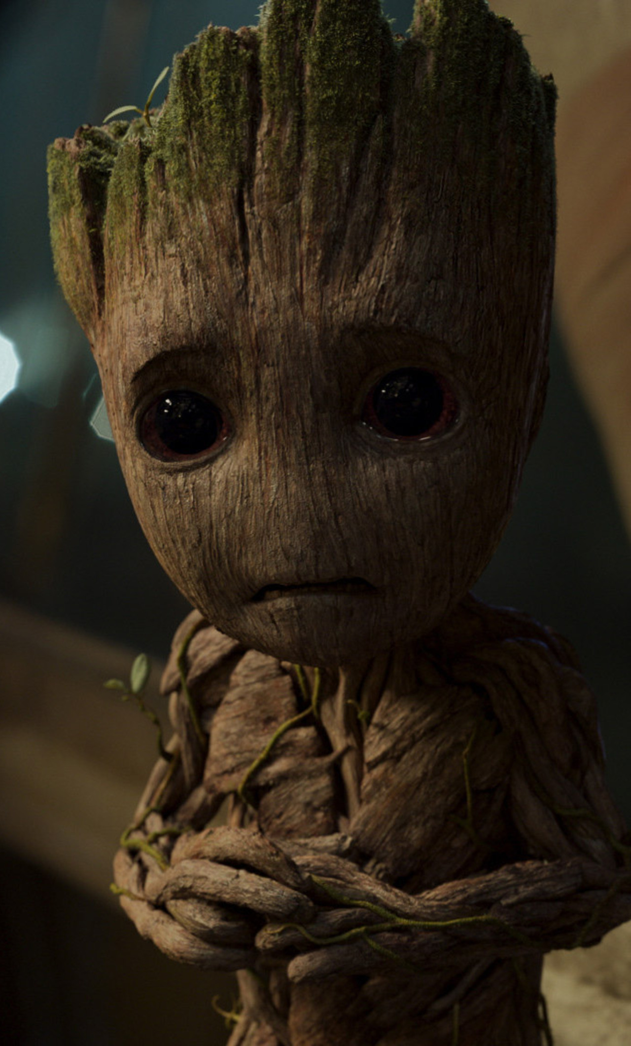 1280x2120 Baby Groot In Guardians of the Galaxy Vol 2 ...