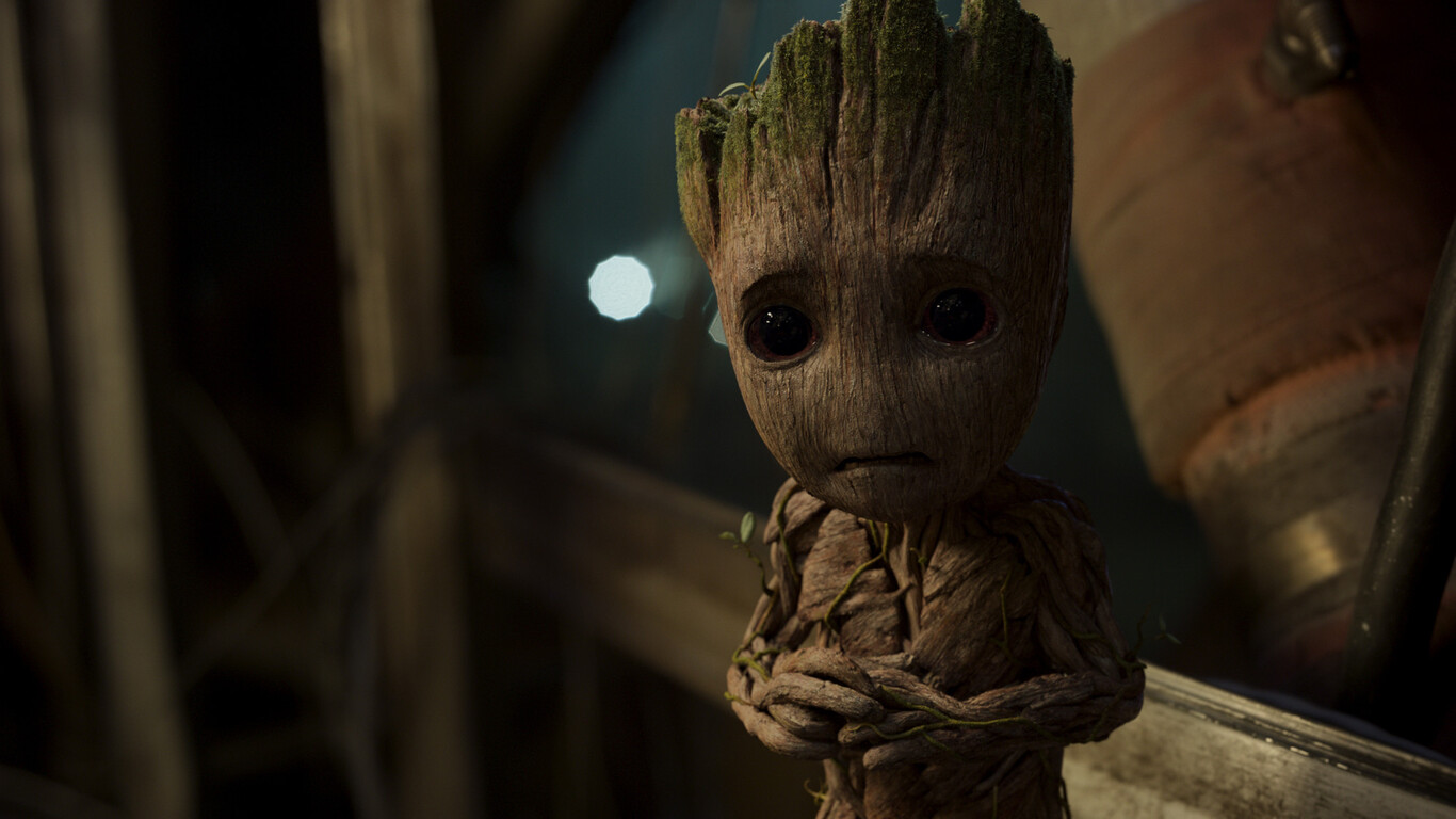 Baby Groot Guardians Of The Galaxy Vol 2 Hd Movies 4k: 1366x768 Baby Groot In Guardians Of The Galaxy Vol 2
