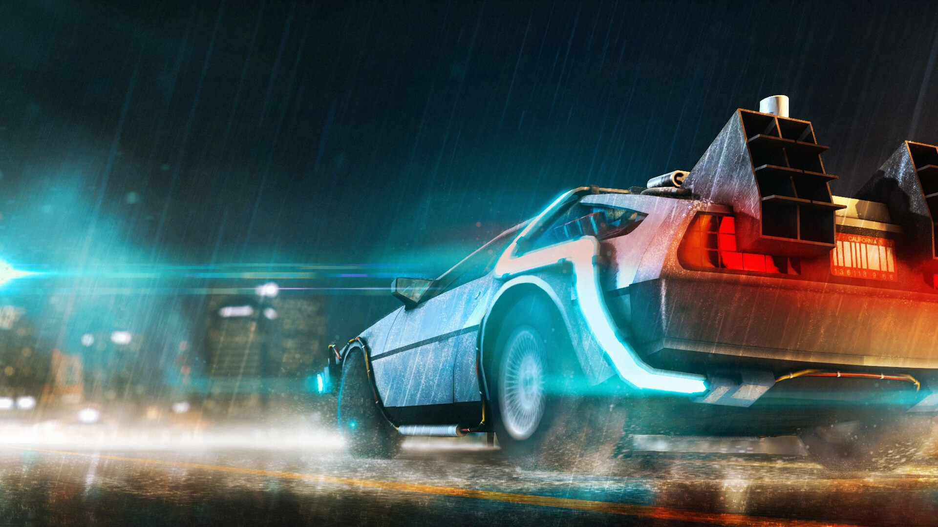 1920x1080 Back To The Future Car Laptop Full HD 1080P HD ...