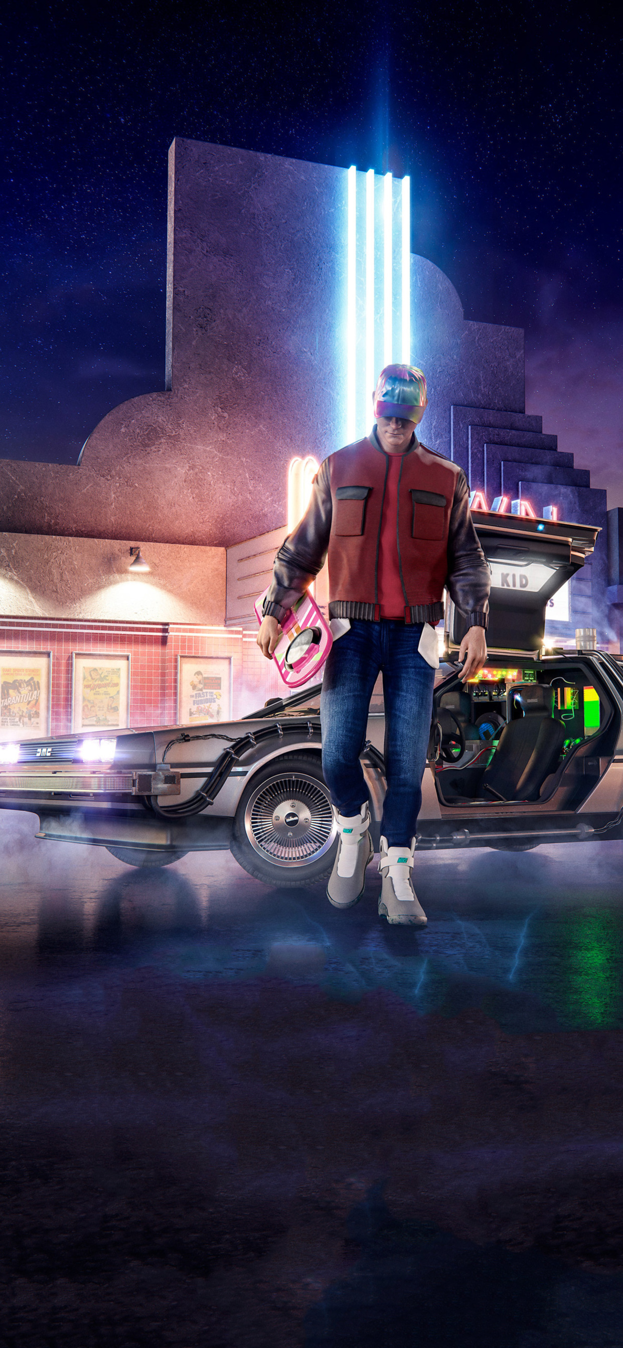 1242x2688 Back To The Future Movie Iphone Xs Max Hd 4k Wallpapers