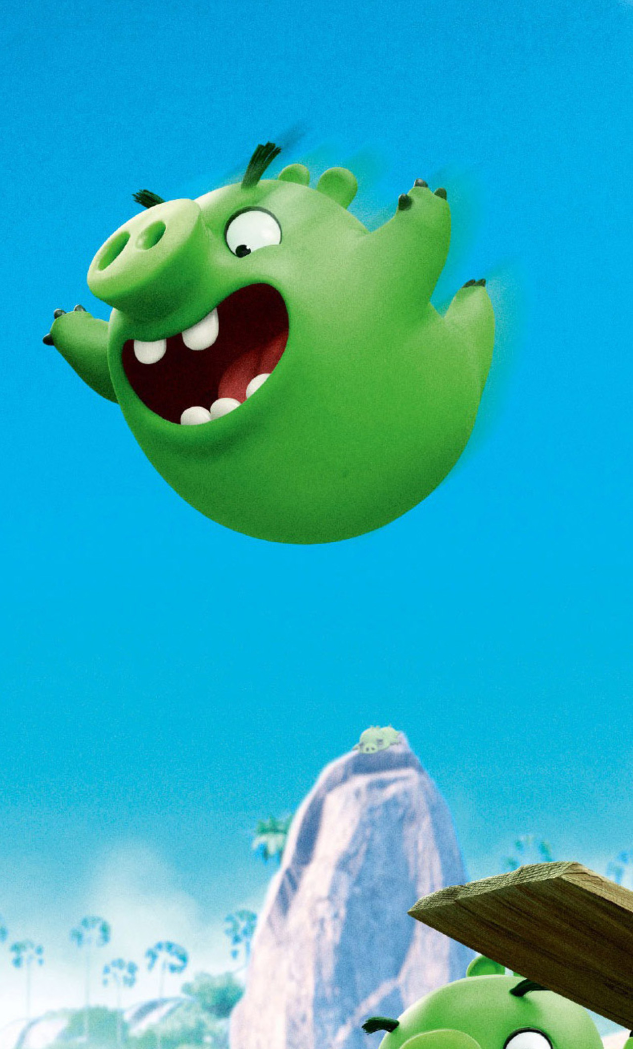1280x2120 Bad Piggies Angry Birds Iphone 6 Hd 4k Wallpapers Images