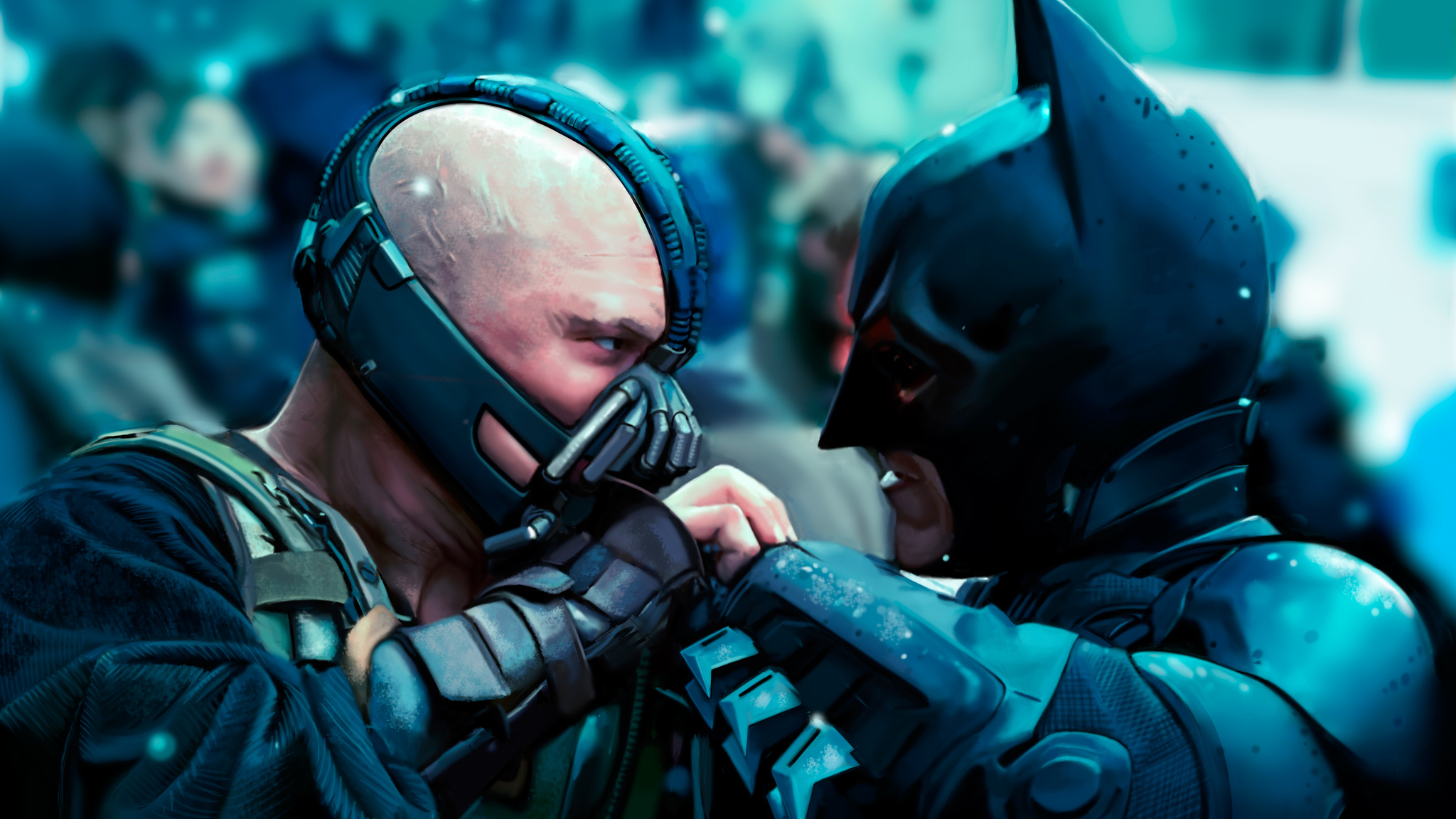 Bane In Batman Dark Knight Rises