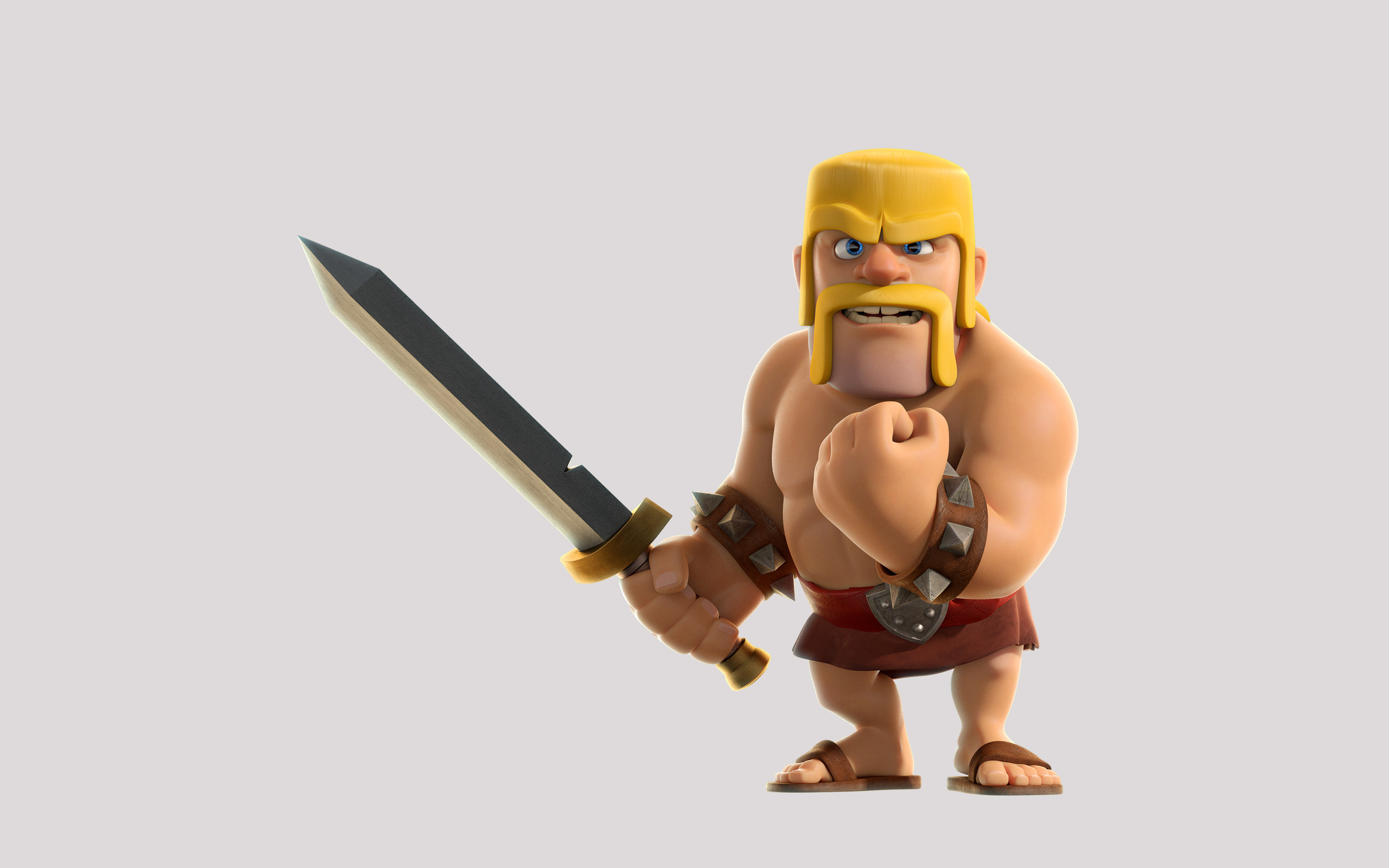 Barbarian Clash Of Clans Hd Hd Games 4k Wallpapers: Picture Of Clash Of Clans Barbarian