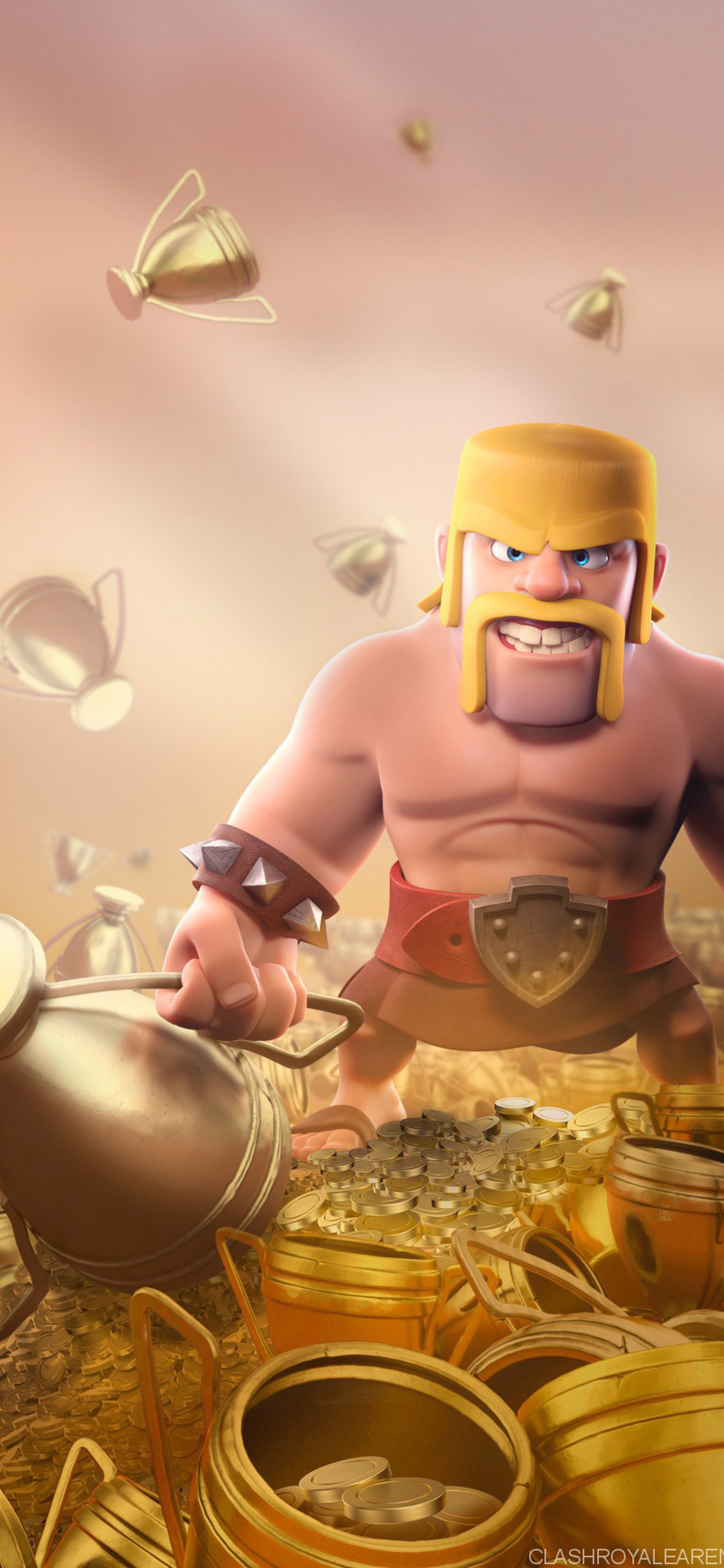 1125x2436 Barbarian Clash Of Clans Hd Iphone Xs Iphone 10 Iphone X