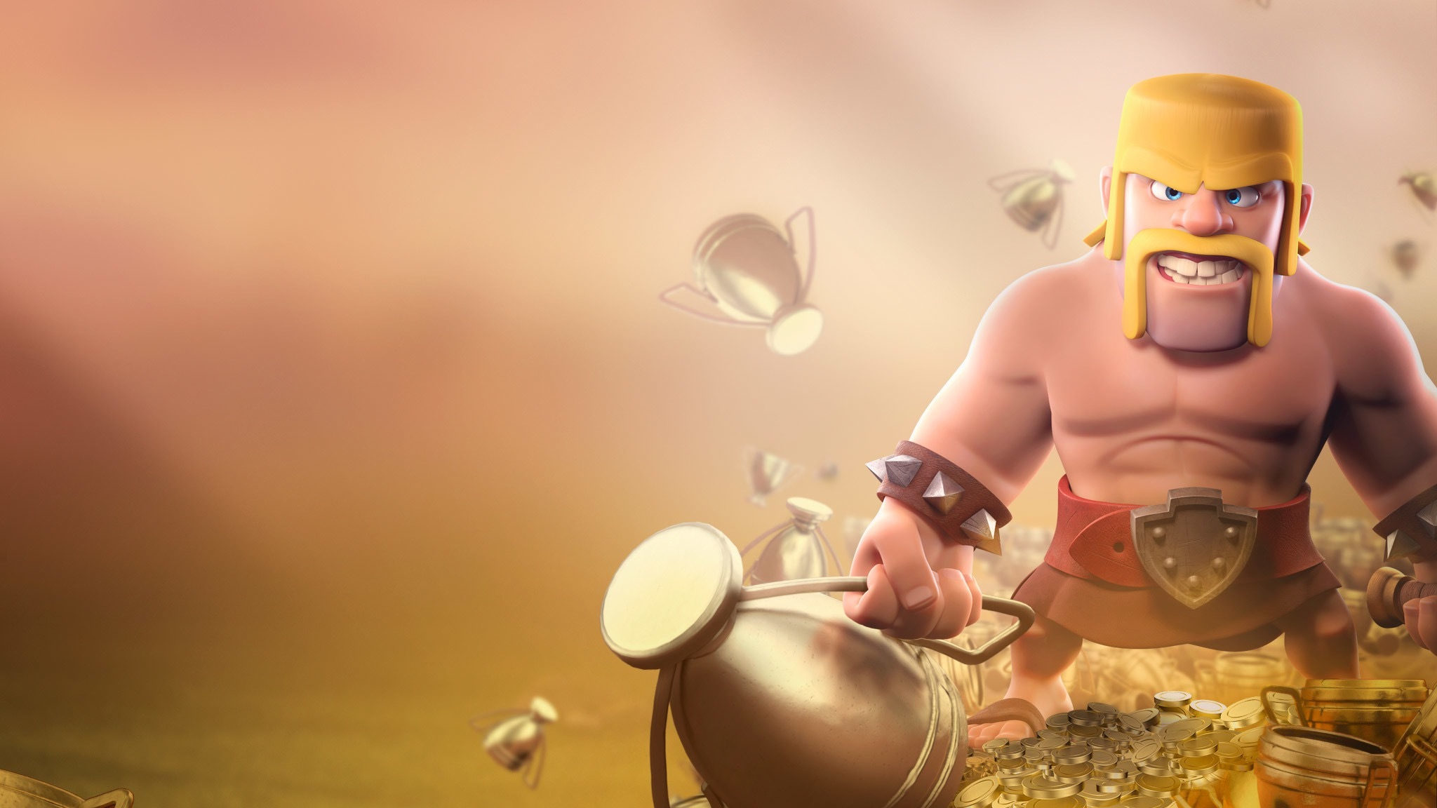 Barbarian Clash Of Clans Hd Hd Games 4k Wallpapers: 2048x1152 Barbarian Clash Of Clans HD 2048x1152 Resolution