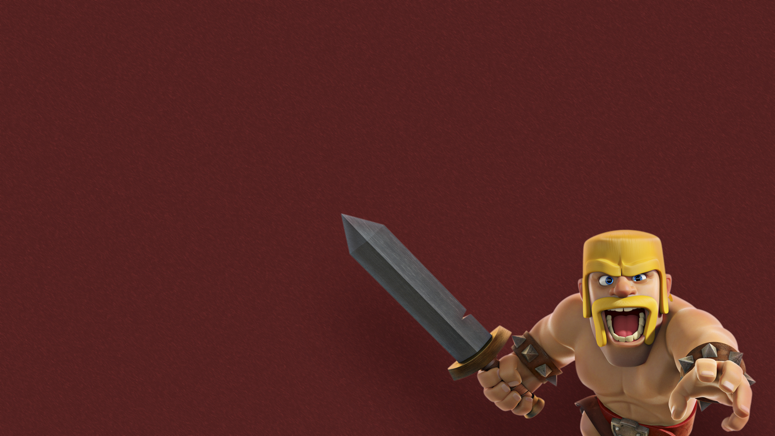 2560x1440 barbarian clash of clans supercell 1440p resolution hd 4k wallpapers images - Clash royale 2560x1440 ...