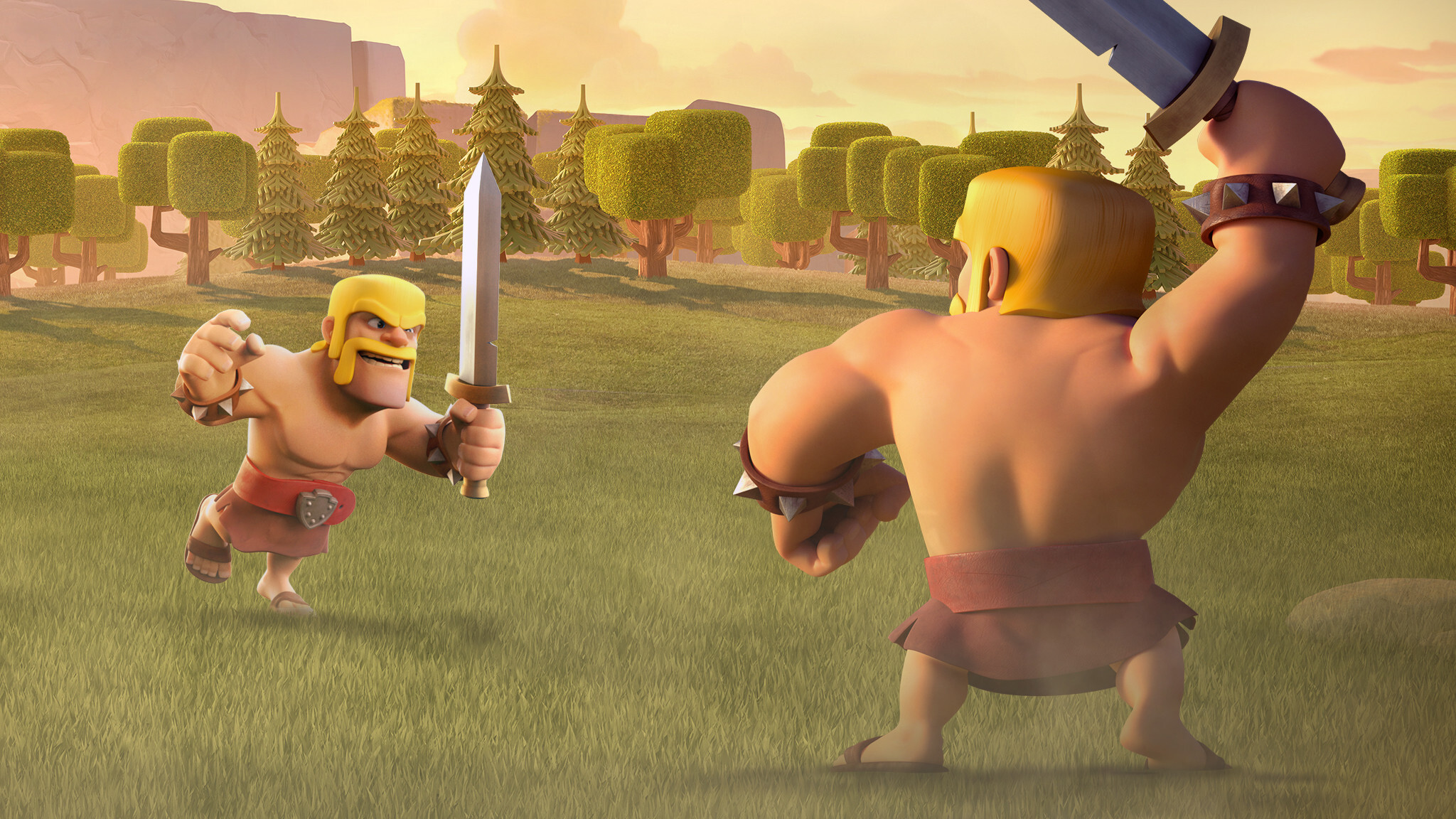 Barbarian Clash Of Clans Hd Hd Games 4k Wallpapers: 2048x1152 Barbarian Clash Of Clans 2048x1152 Resolution HD
