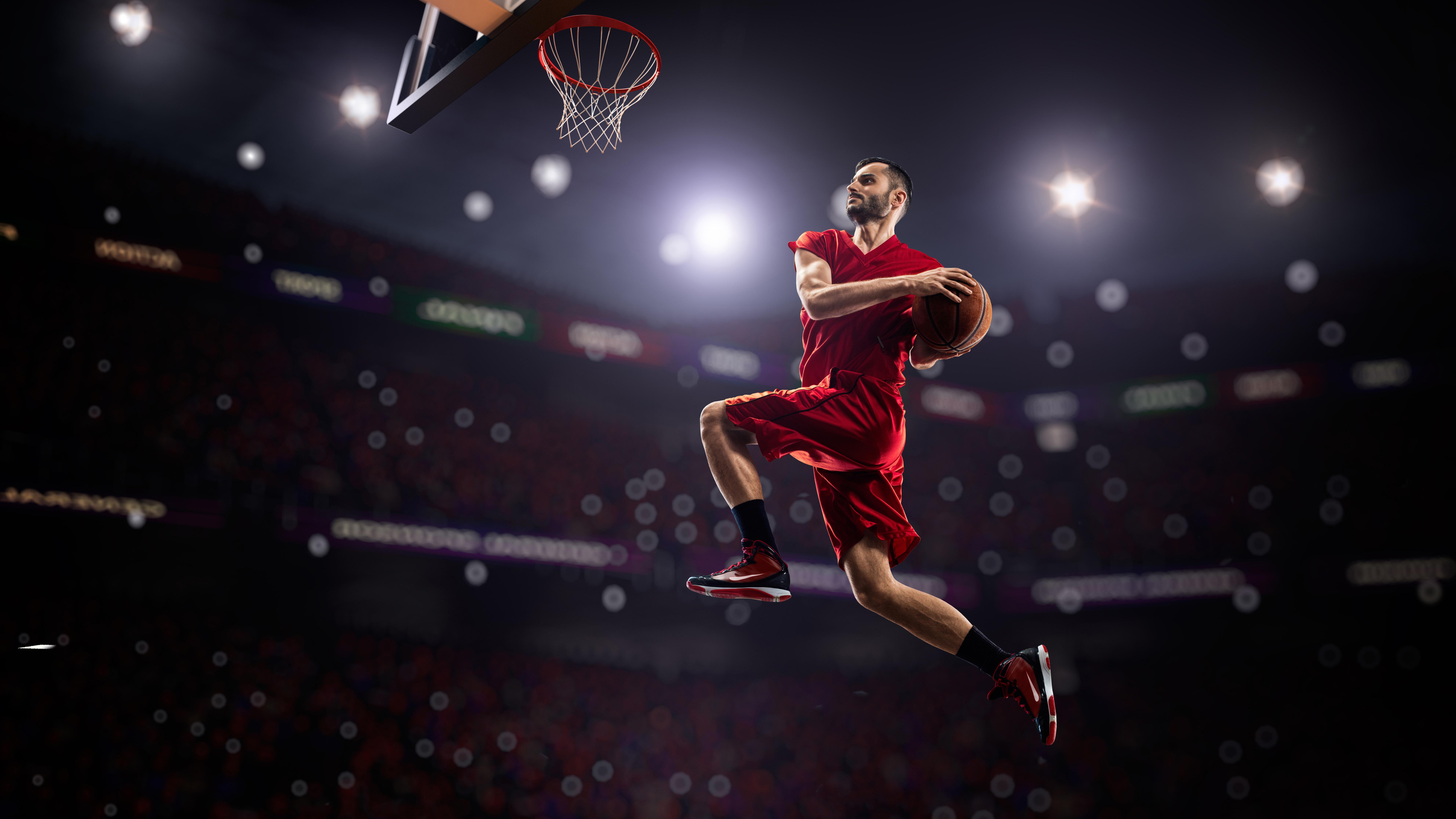 7680x4320 Basketball Man Jumping Playing 8k 8k Hd 4k Wallpapers