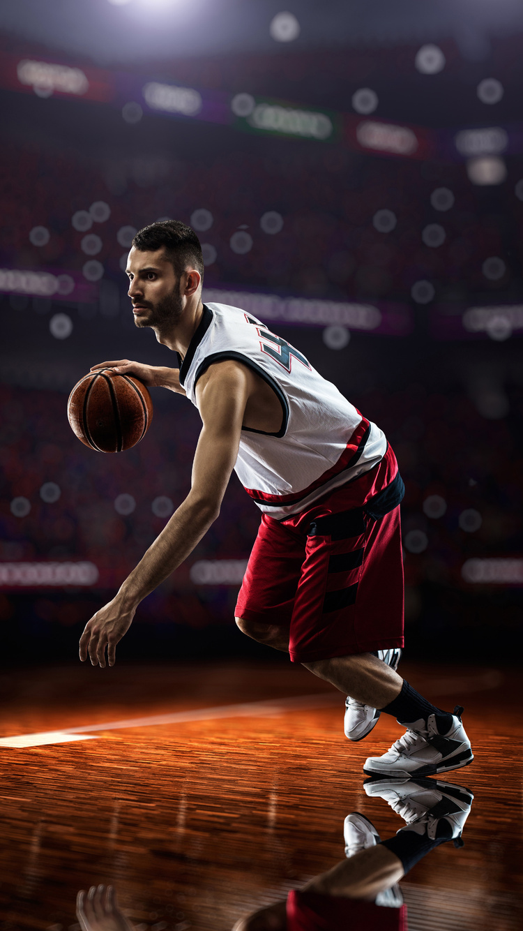 750x1334 Basketball Player 8k Iphone 6 Iphone 6s Iphone 7 Hd 4k Wallpapers Images Backgrounds Photos And Pictures