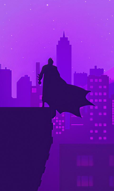 bat man gotham neon 8t