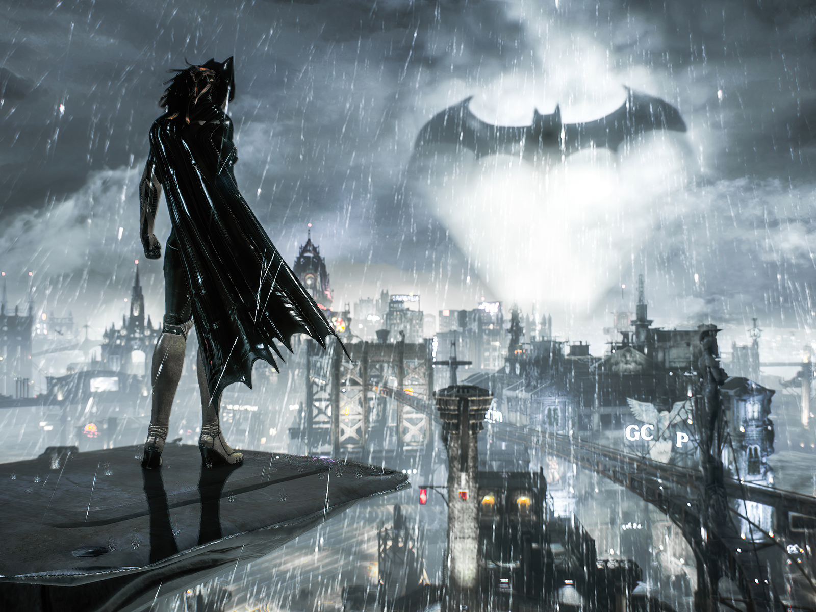 Batman Arkham Knight Batgirl Wallpaper