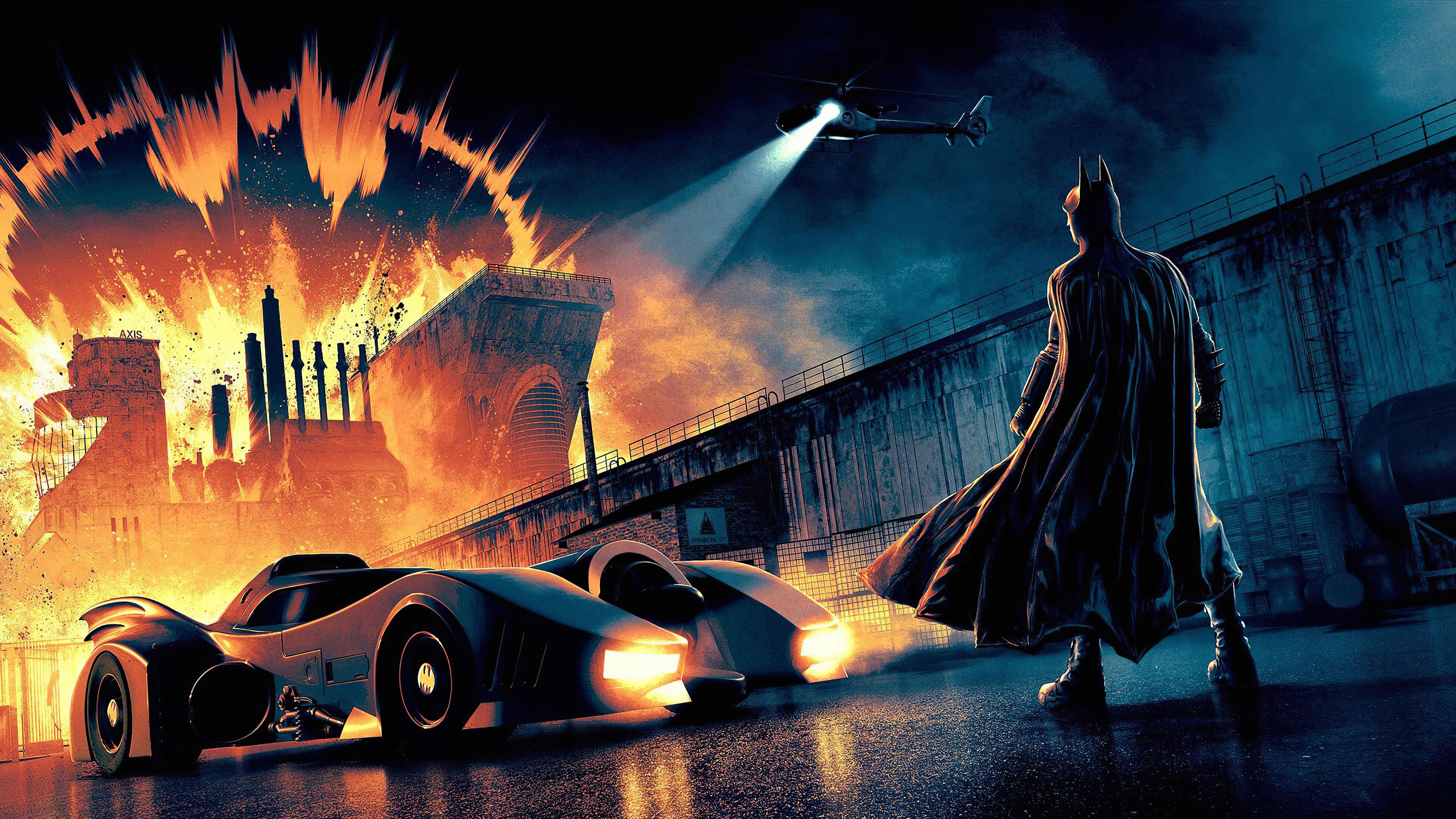 3840x2160 Batman 4k Batmobile 4k HD 4k Wallpapers, Images ...