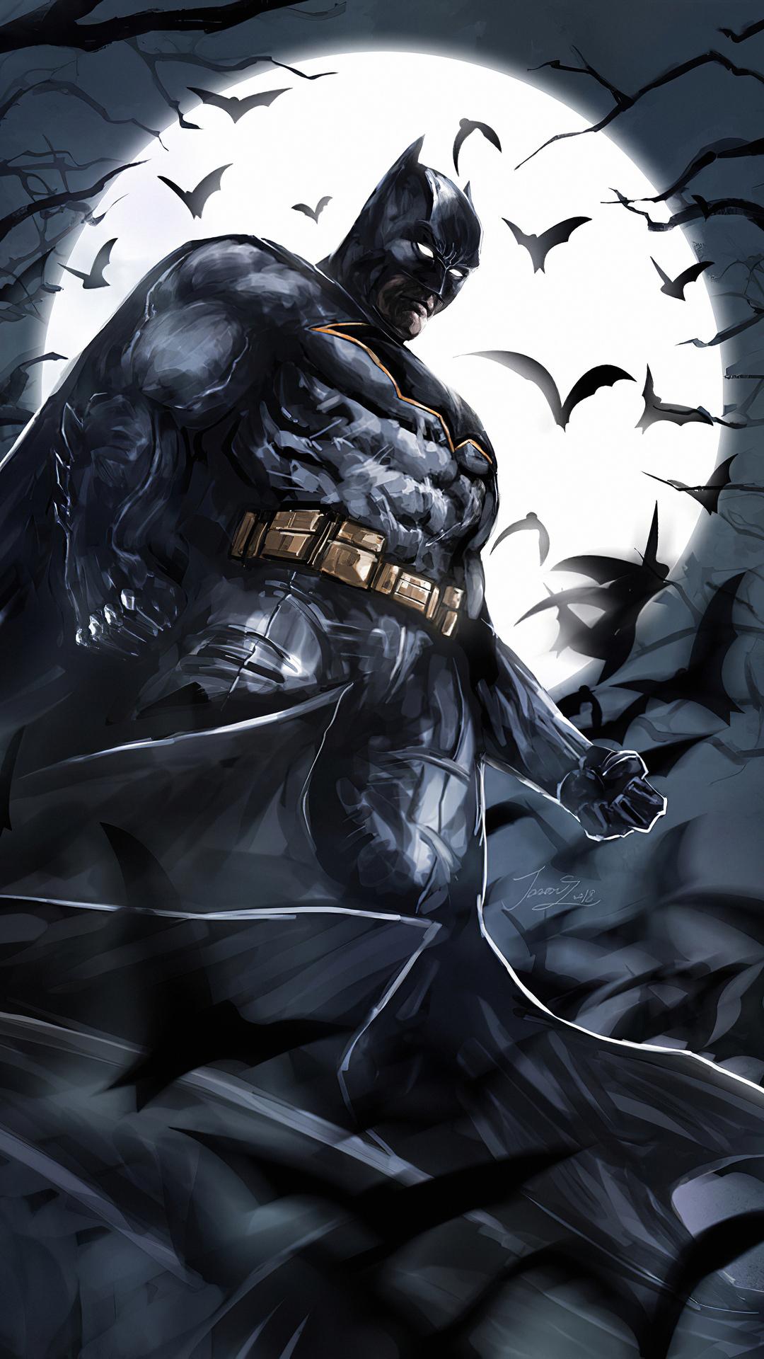 1080x1920 Batman Above 4k Iphone 7,6s,6 Plus, Pixel xl ...