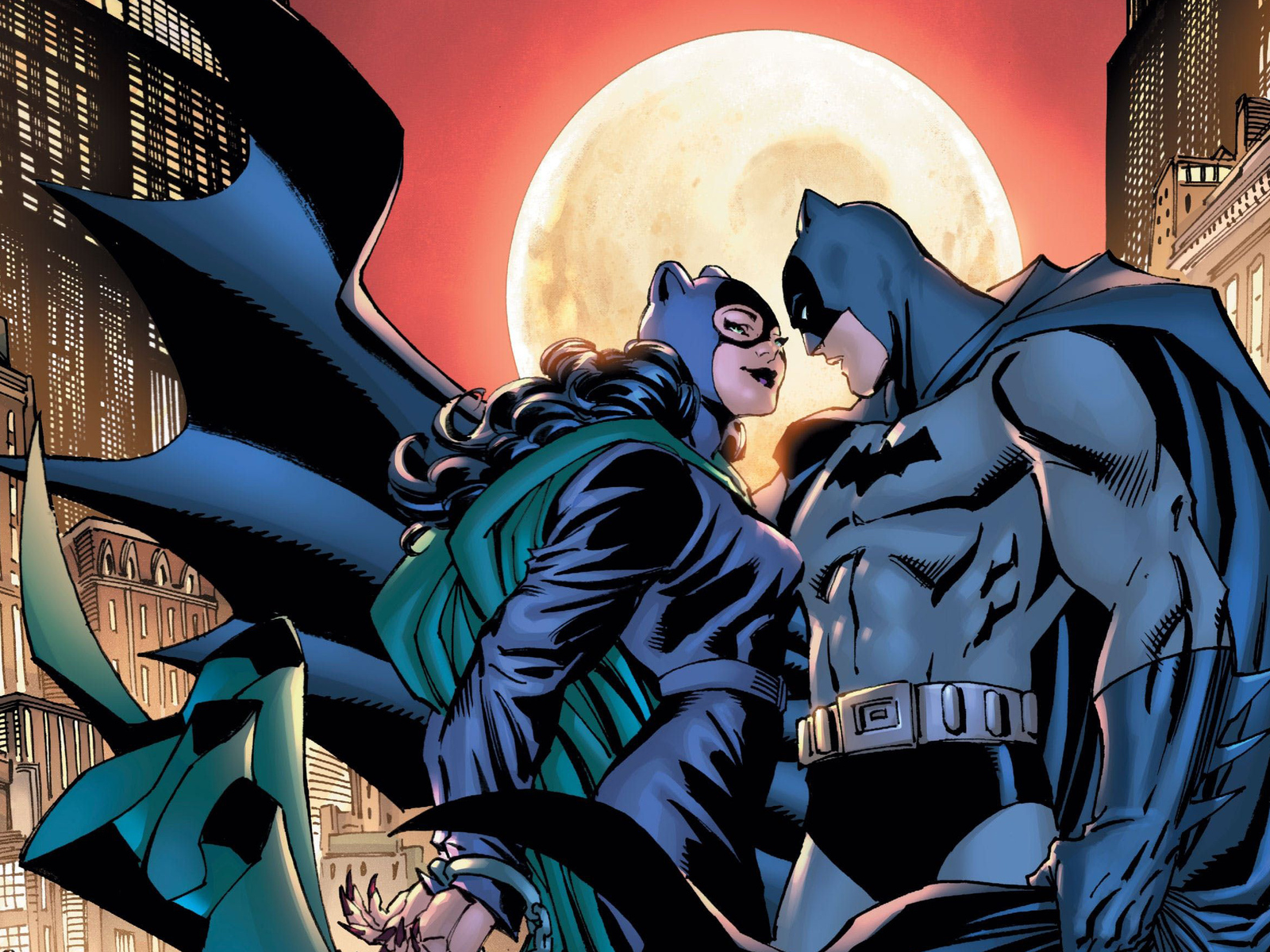 Image result for batman and batgirl wallpaper