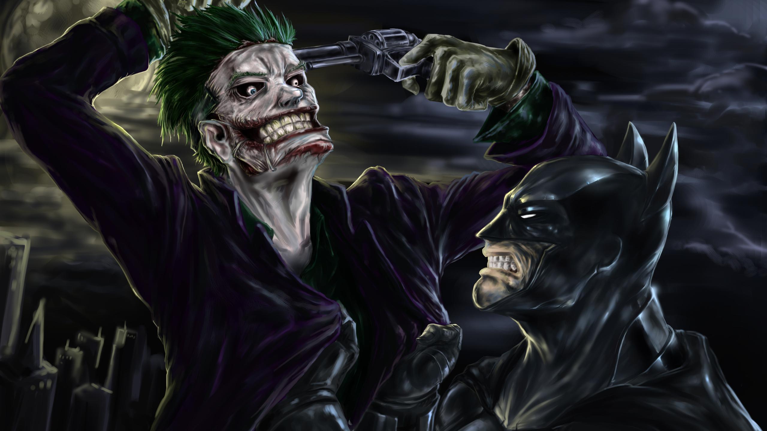 2560x1440 Batman And Joker 4k 1440p Resolution Hd 4k Wallpapers