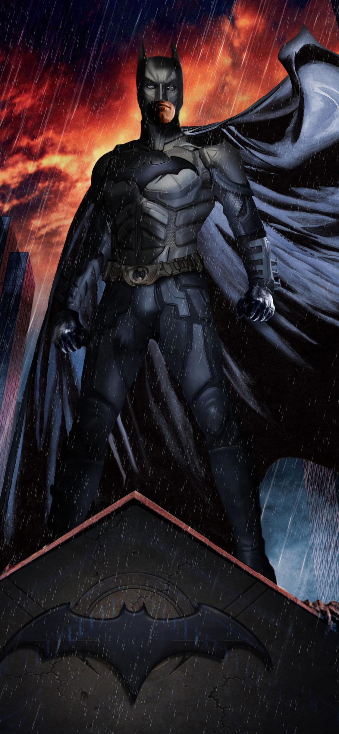 1125x2436 Batman And Man Of Steel Iphone Xs Iphone 10 Iphone X Hd