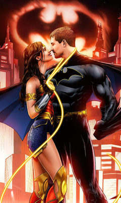 Batman romance wonder woman and DC: 10