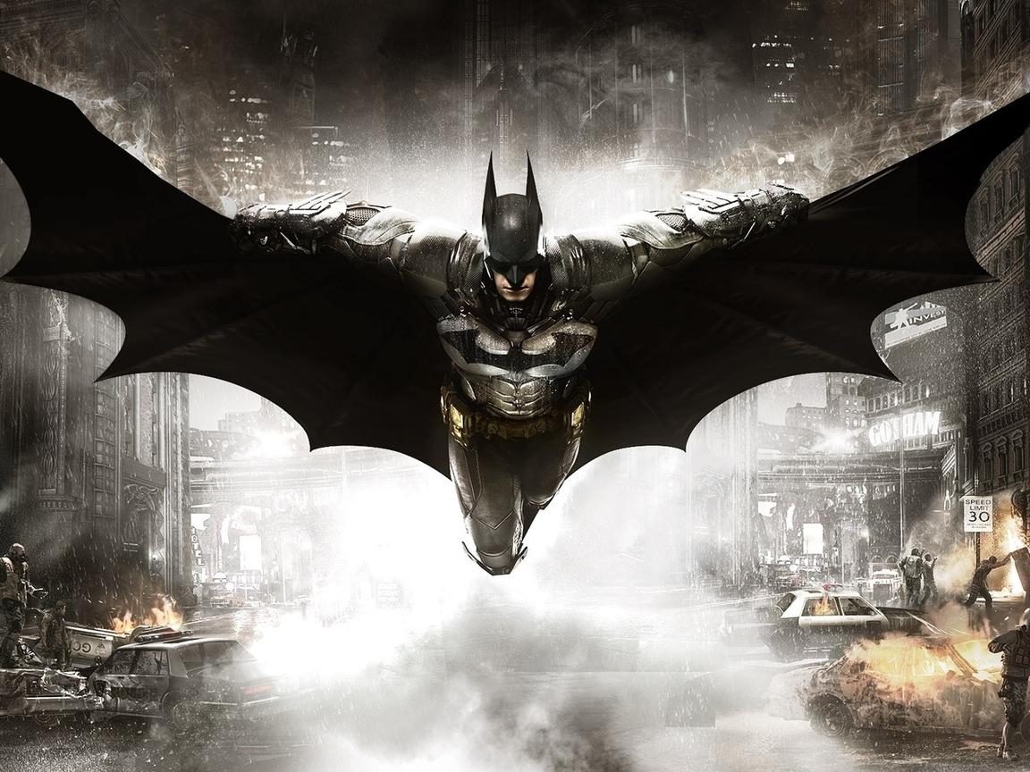 Batman Arkham Knight 2015 Video Game 4k Hd Desktop: 1152x864 Batman Arkham Knight 2 1152x864 Resolution HD 4k