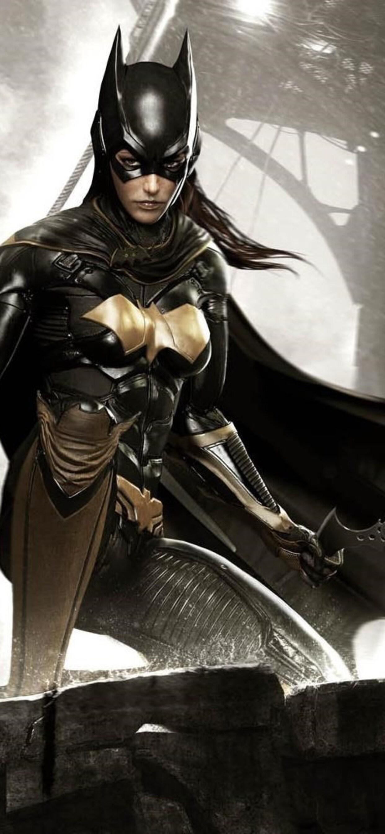 1242x2688 Batman Arkham Knight Batgirl Iphone Xs Max Hd 4k