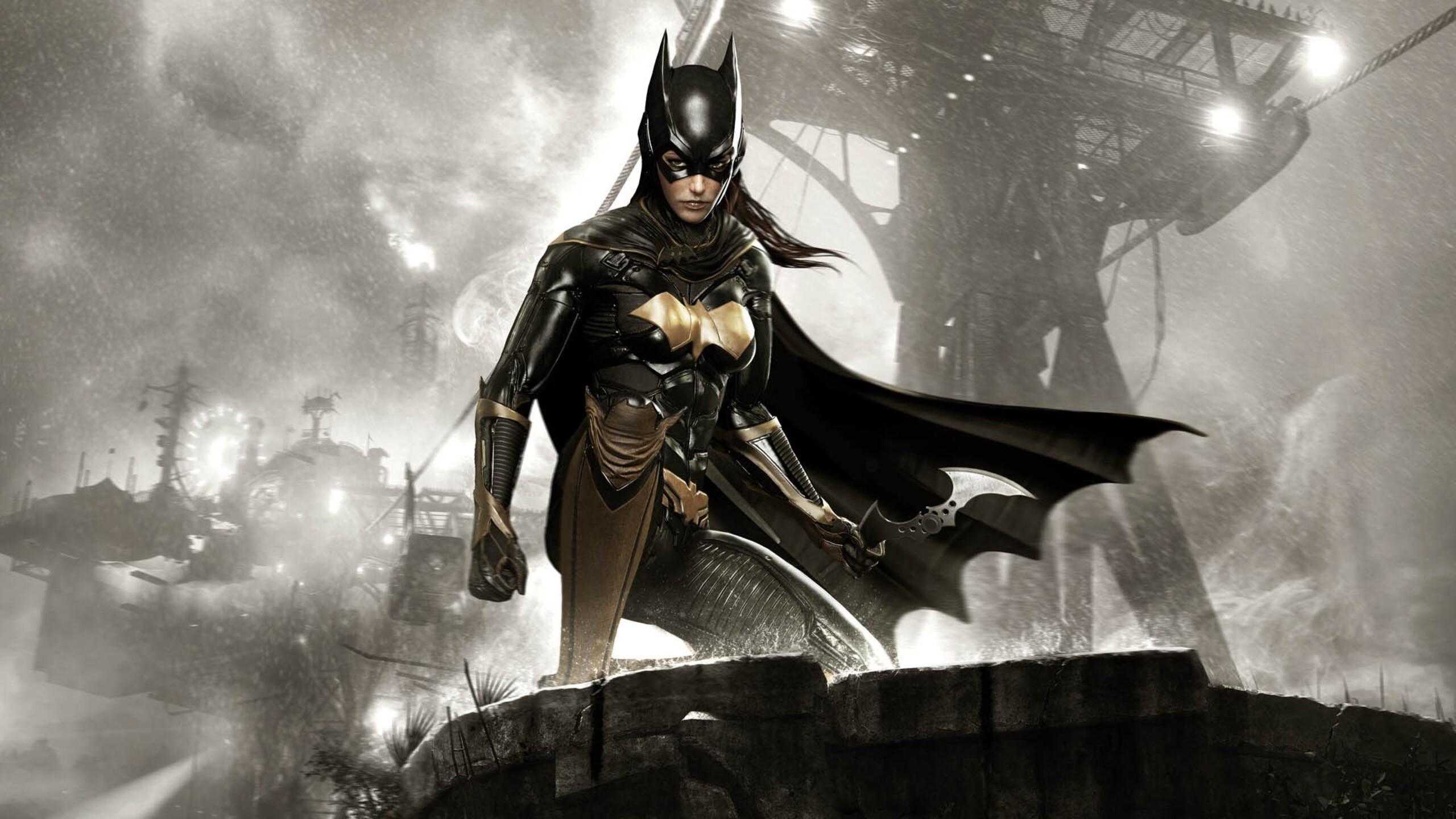 2560x1440 batman arkham knight batgirl 1440p resolution hd for Batman arkham knight wallpaper 1920x1080