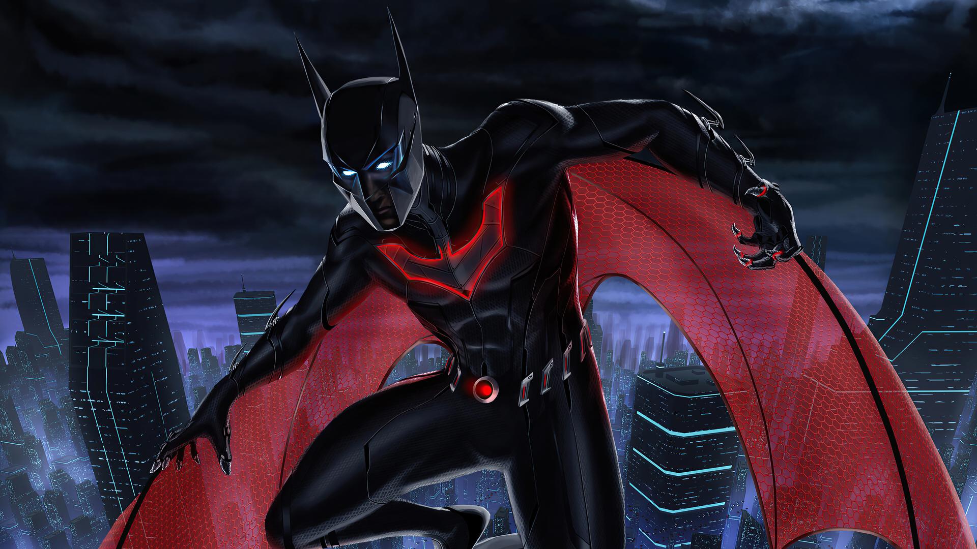 1920x1080 Batman Beyond 2020 Art 4k Laptop Full HD 1080P ...