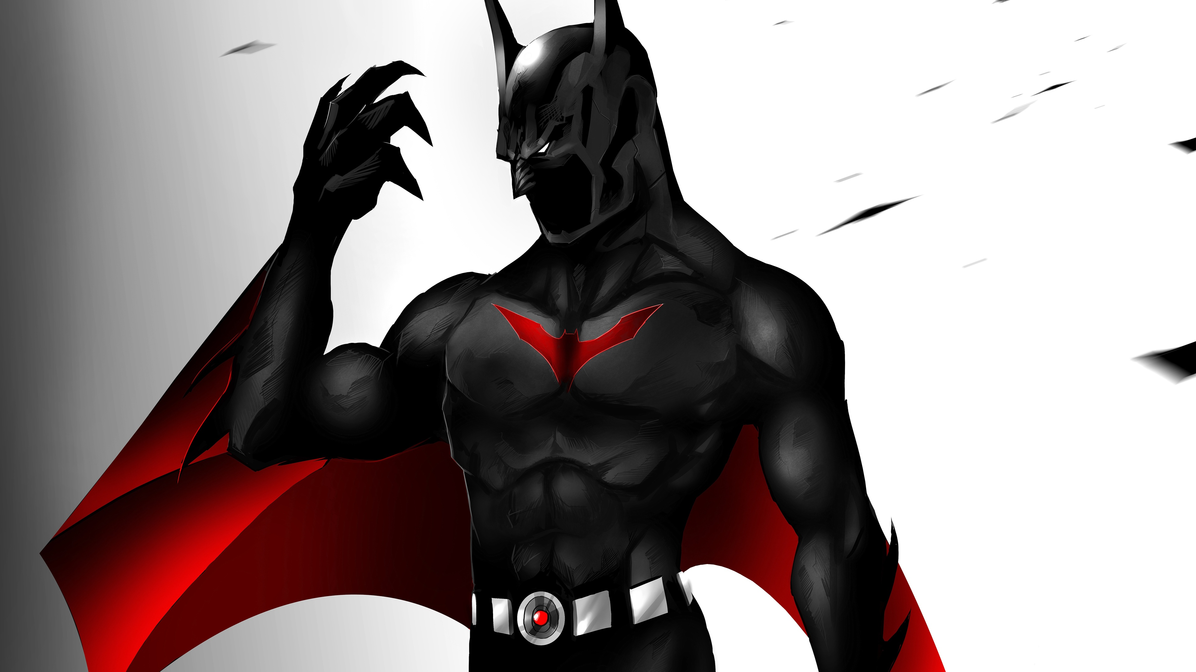 3840x2160 Batman Beyond 8k 4k Hd 4k Wallpapers Images Backgrounds