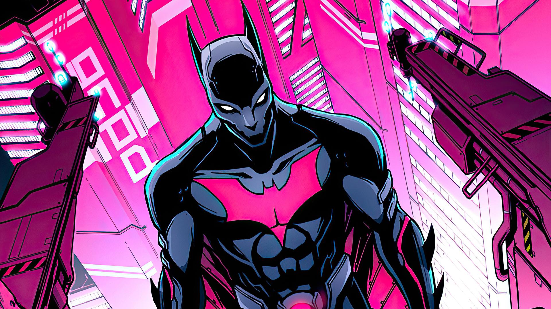 1920x1080 Batman Beyond Cyber City Laptop Full HD 1080P HD ...