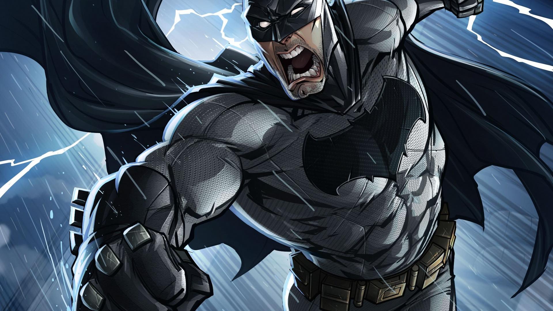 1920x1080 Batman Comics Art Laptop Full HD 1080P HD 4k ...